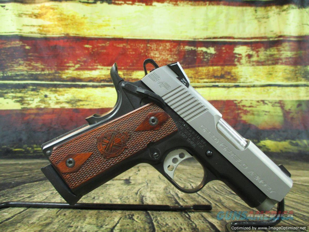 "Springfield Armory 1911 EMP 40 S&W 3"" 8+1 Used (67340)  Guns > Pistols > Springfield Armory Pistols > 1911 Type"