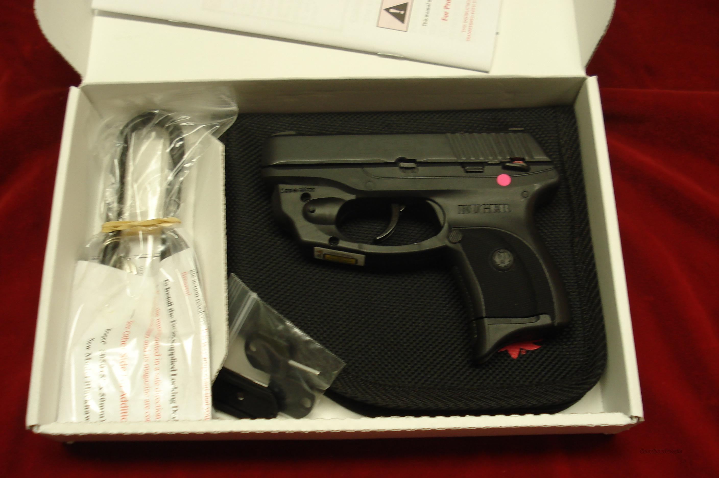 RUGER LC9 (Lightweight Compact nine) 9MM. WITH FACTORY LASER NEW  Guns > Pistols > Ruger Semi-Auto Pistols > LCP