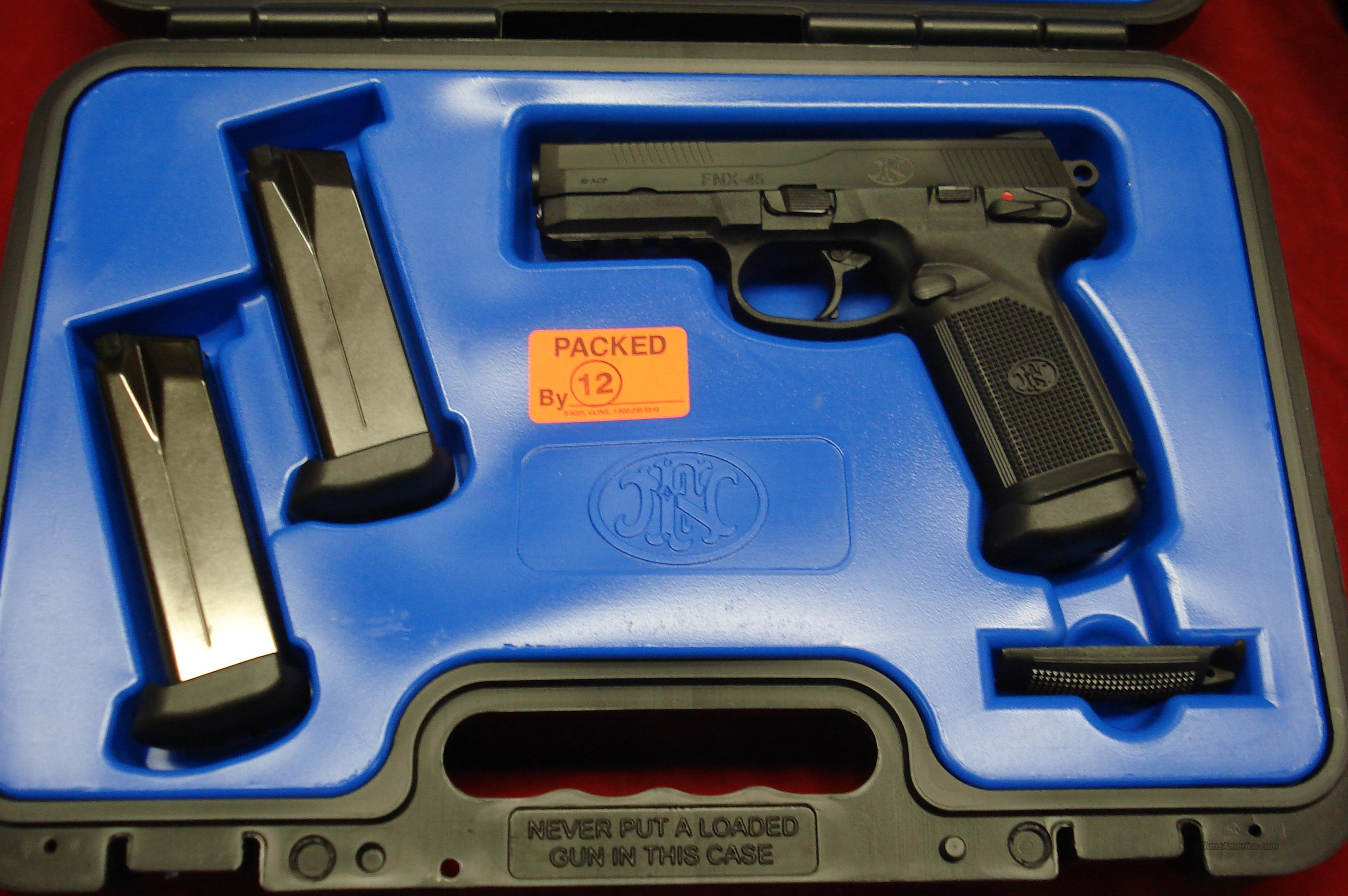 FN FNX-45  BLACK NEW  Guns > Pistols > FNH - Fabrique Nationale (FN) Pistols > FNP