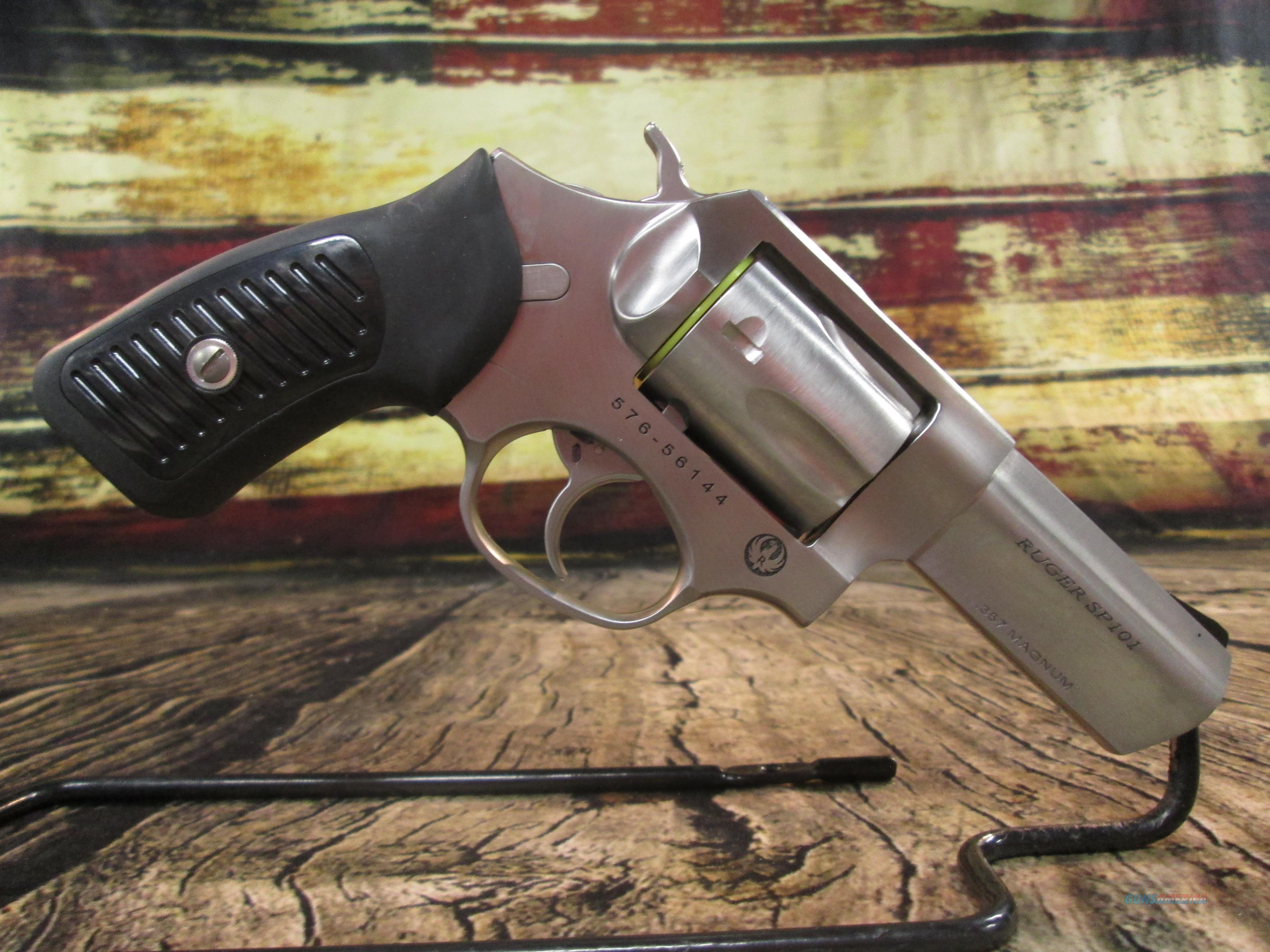 """Ruger SP101 3 1/16"""" 357 Mag Stainless NEW (05719)  Guns > Pistols > Ruger Double Action Revolver > SP101 Type"""
