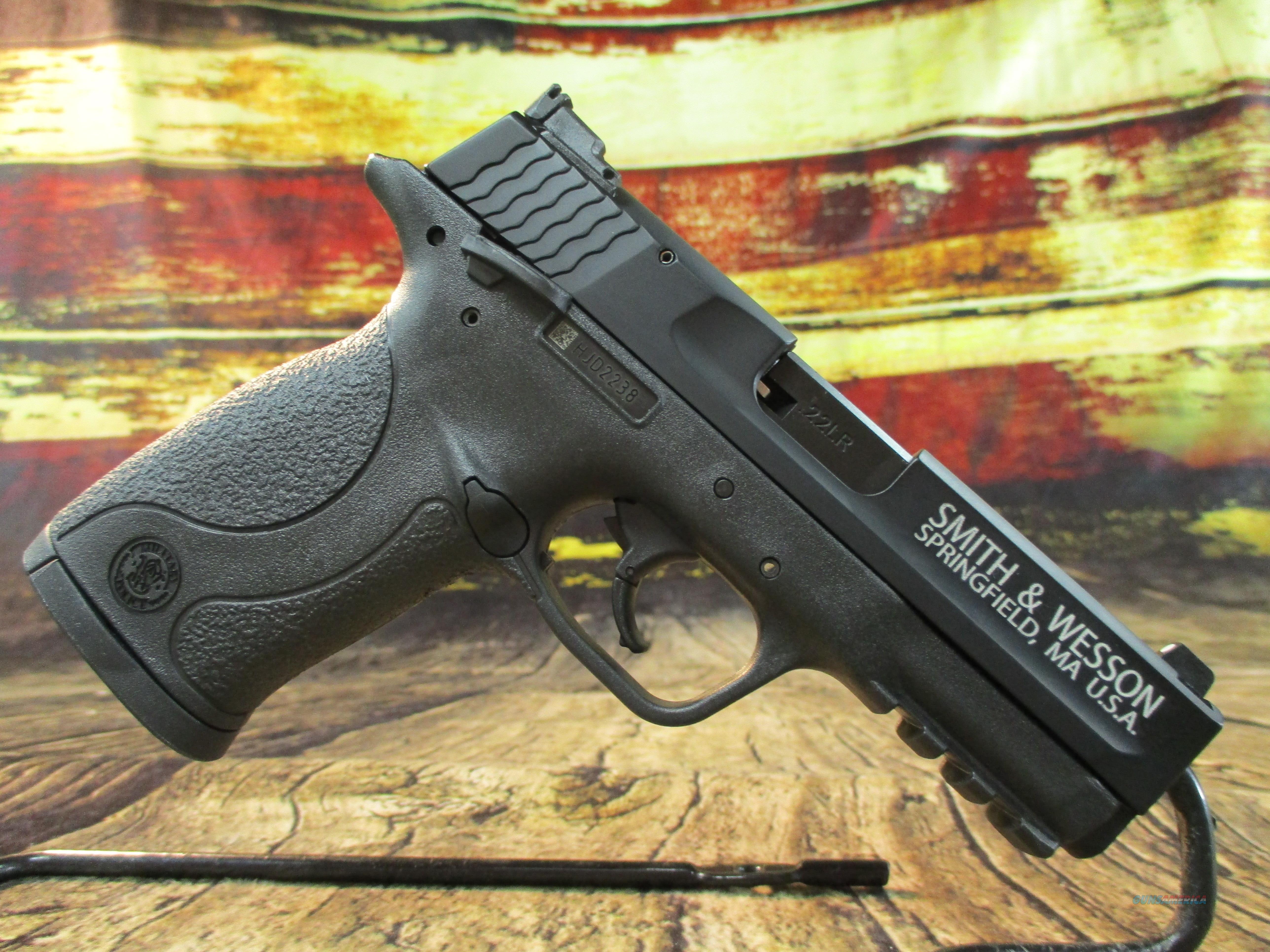 "Smith & Wesson 22 LR M&P 22 Compact 3.6"" New (108390)  Guns > Pistols > Smith & Wesson Pistols - Autos > .22 Autos"