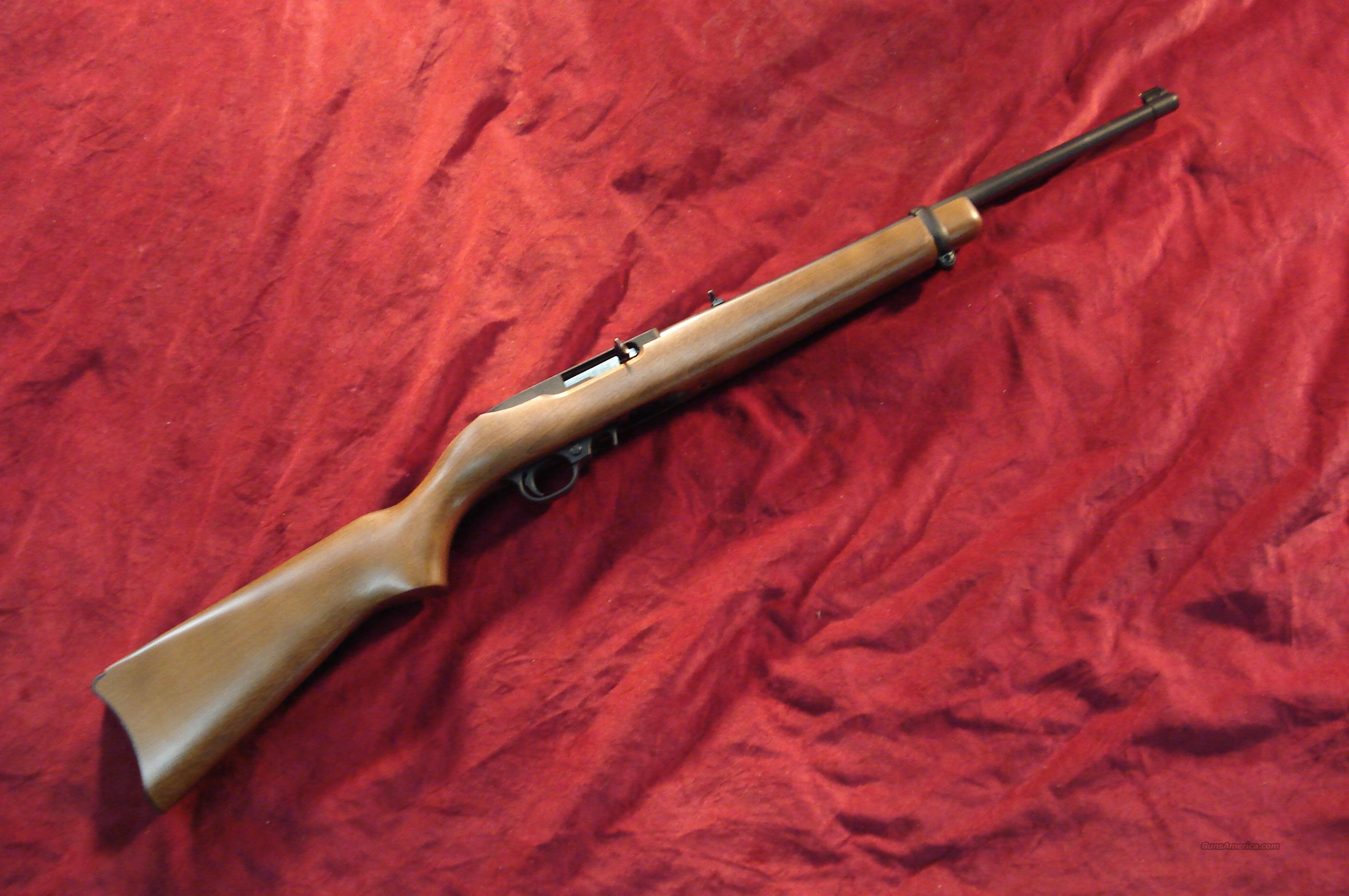 RUGER 10/22 WOOD NEW (10/22RB)  (01103)   Guns > Rifles > Ruger Rifles > 10-22