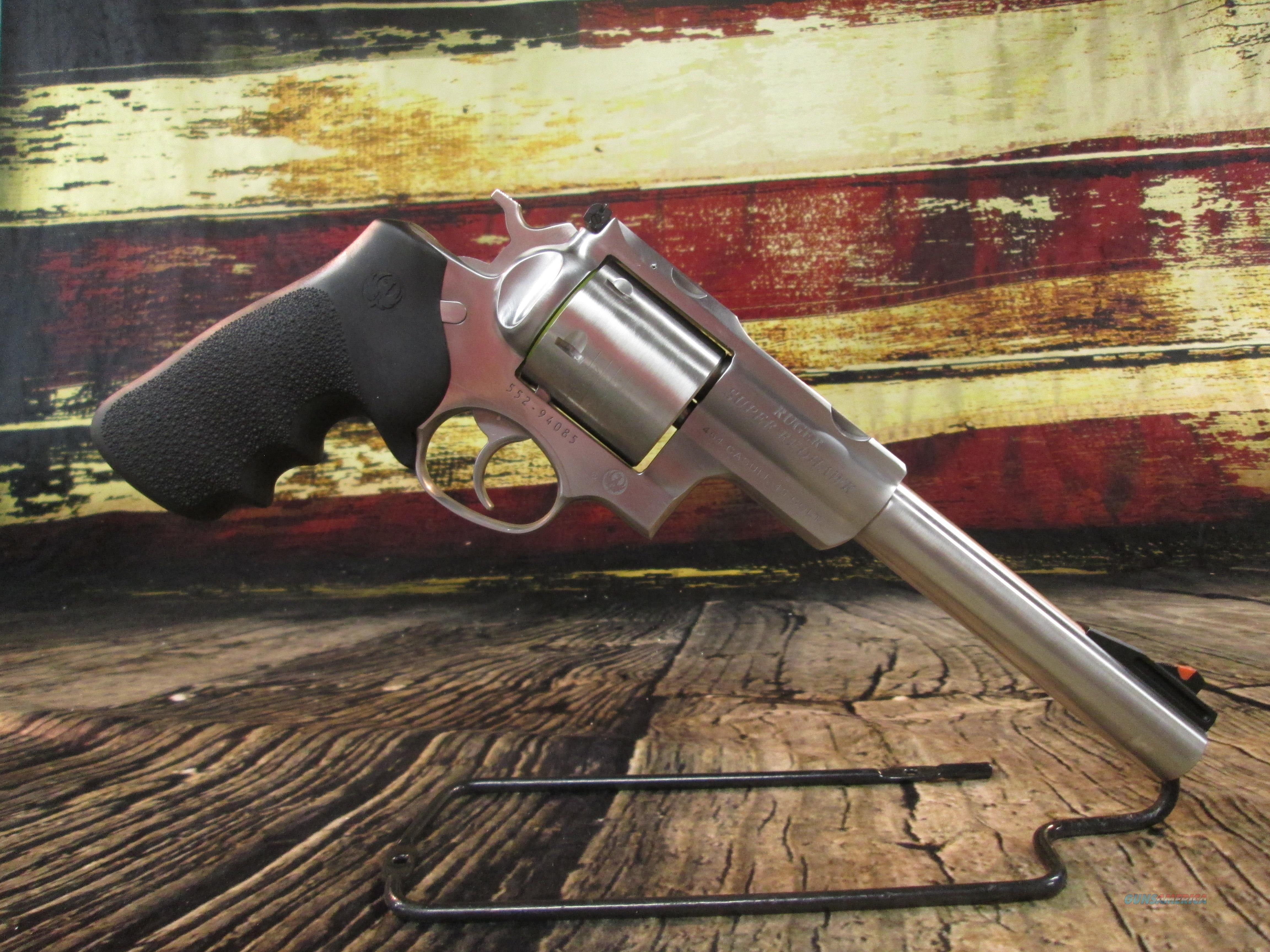 """Ruger Super Redhawk Hunter 454 Casull/ 45 LC Stainless 7.5"""" New (05505)  Guns > Pistols > Ruger Double Action Revolver > Redhawk Type"""