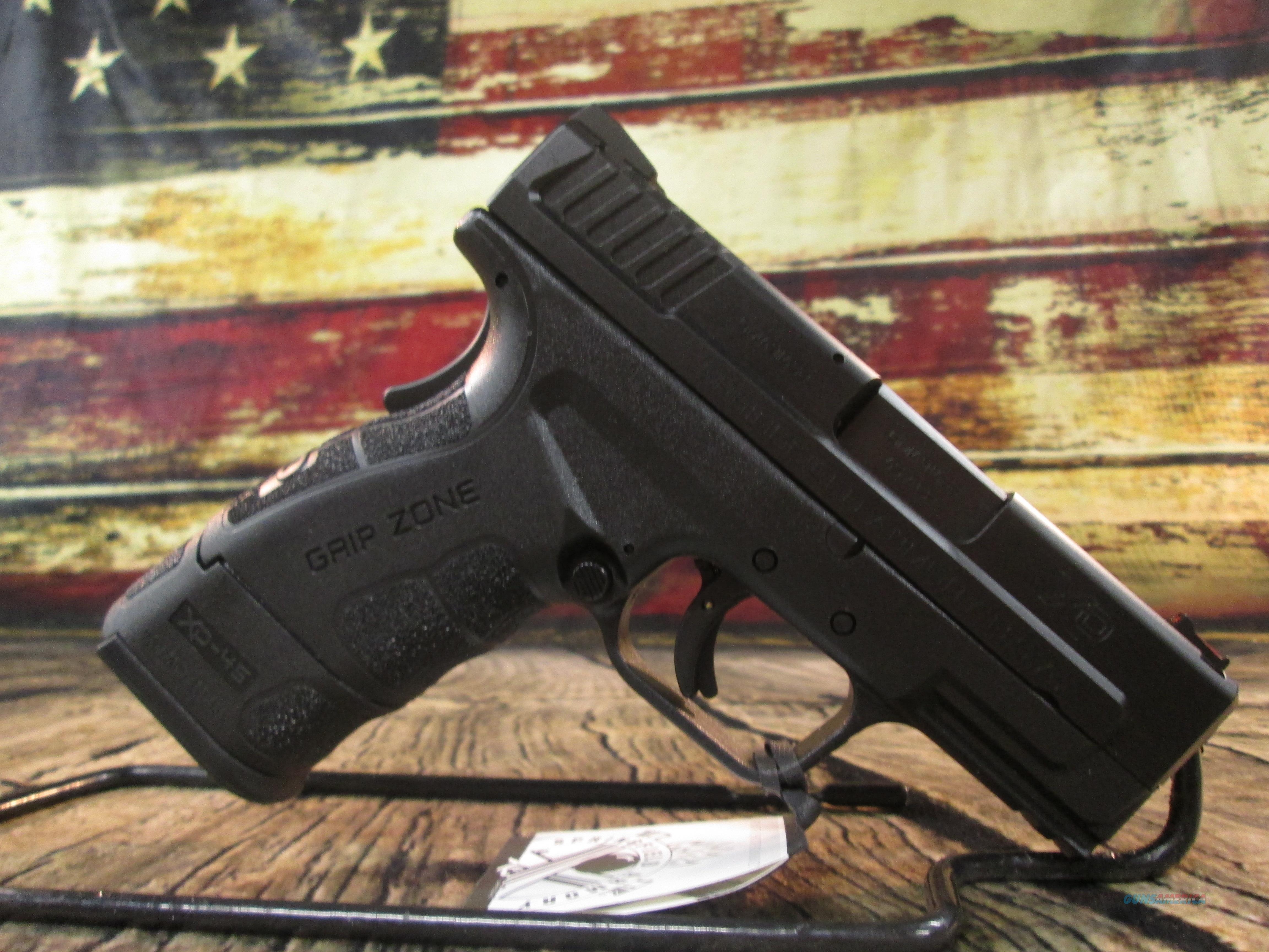 "Springfield Armory 45 ACP XD Mod 2 Sub Compact 3.3"" Black New (XDG9845BHC)  Guns > Pistols > Springfield Armory Pistols > XD-Mod.2"