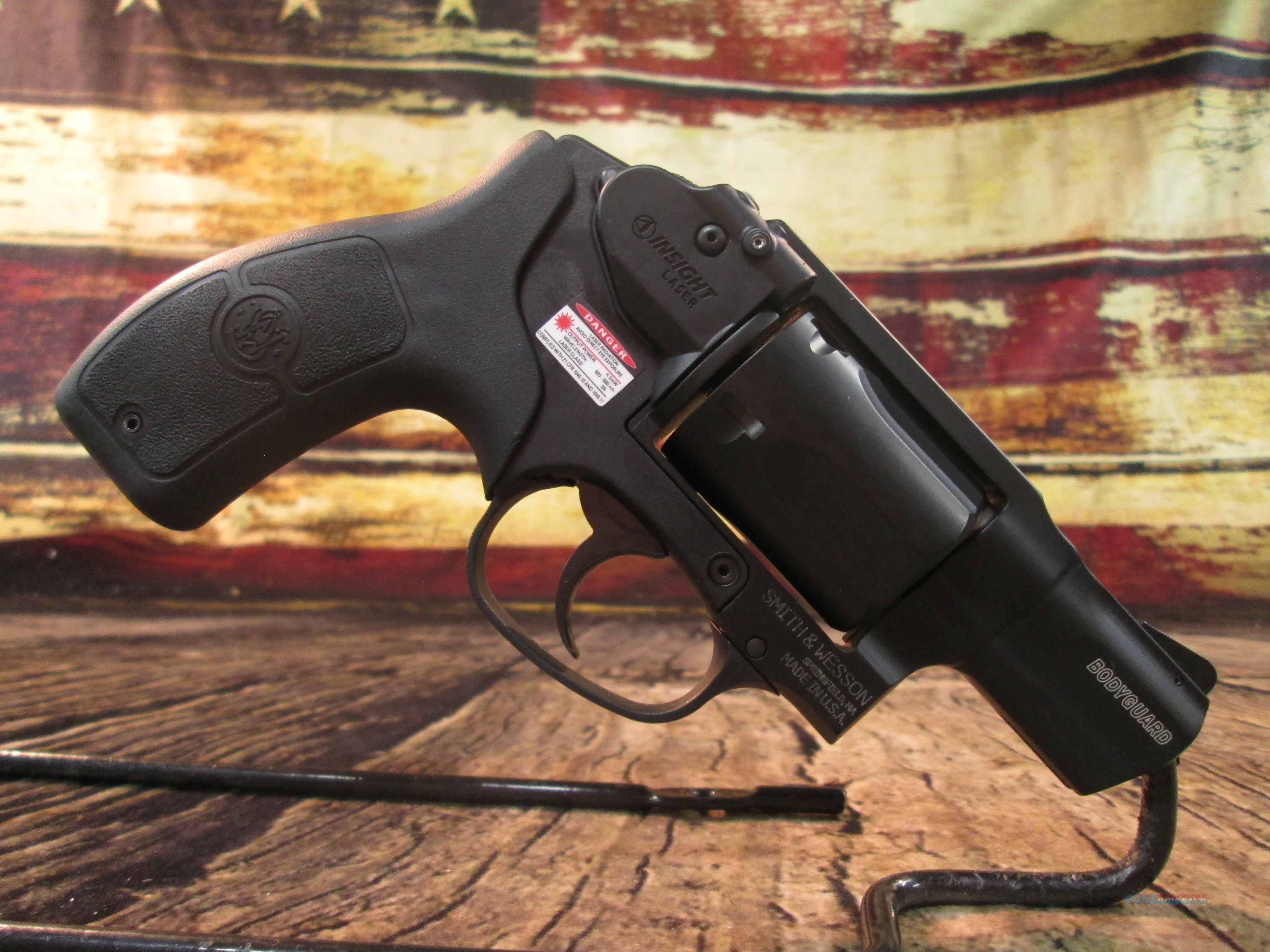 SMITH & WESSON BODYGUARD 38SP USED, AS NEW (64496)  Guns > Pistols > Smith & Wesson Revolvers > Small Frame ( J )