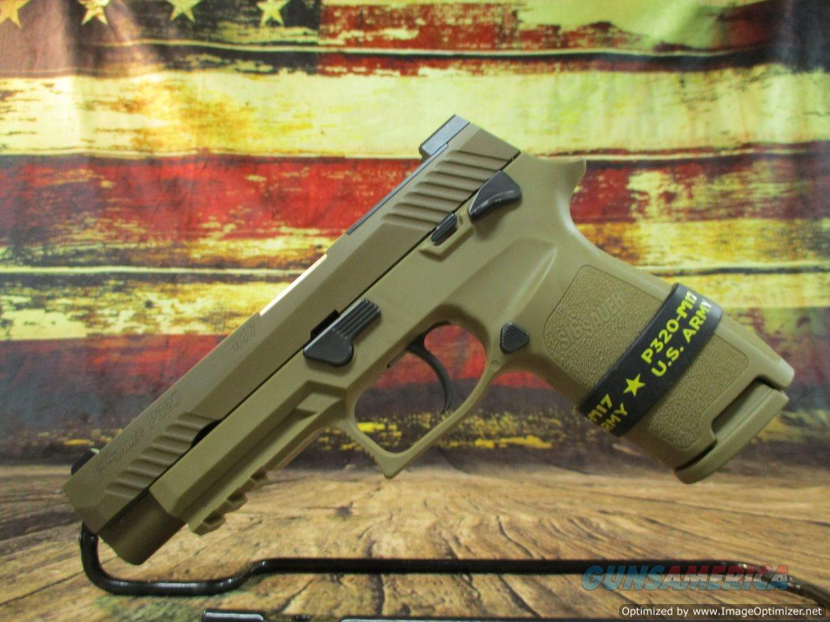 Sig Sauer P320 M17 Coyote 9mm Manual Safety USED (67617)  Guns > Pistols > Sig - Sauer/Sigarms Pistols > P320