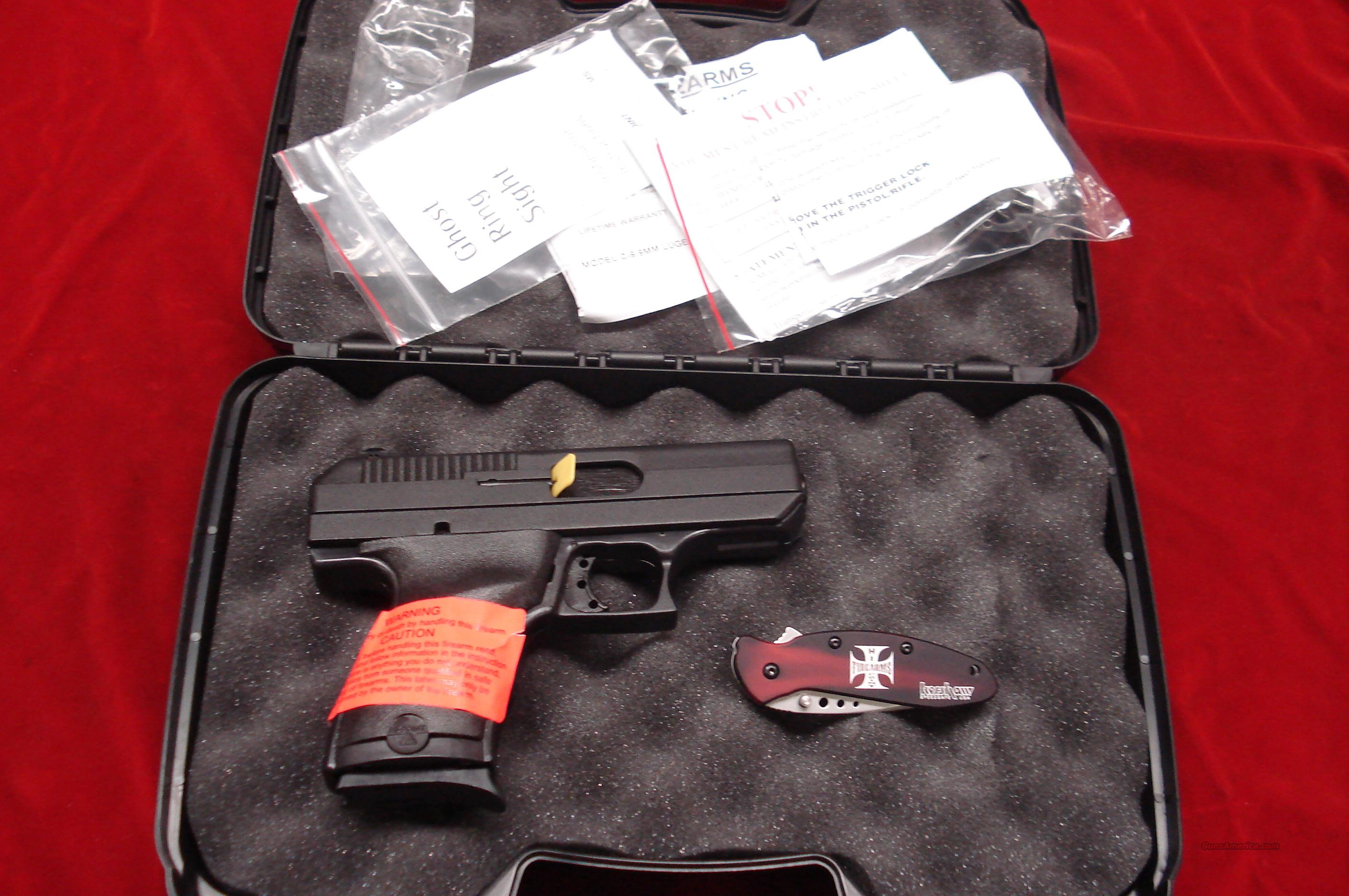 HI POINT 9MM COMPACT WITH KERSHAW KNIFE PACKAGE NEW IN THE BOX   (9HC-K08)   Guns > Pistols > Hi Point Pistols