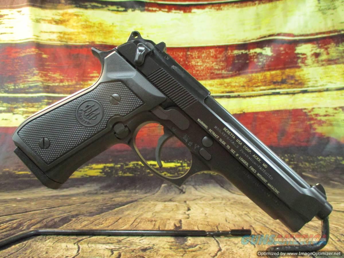 """Beretta 92FS Italy 9mm New DA/SA 15+1 4.9"""" (JS92F300M)  Guns > Pistols > Beretta Pistols > Model 92 Series"""