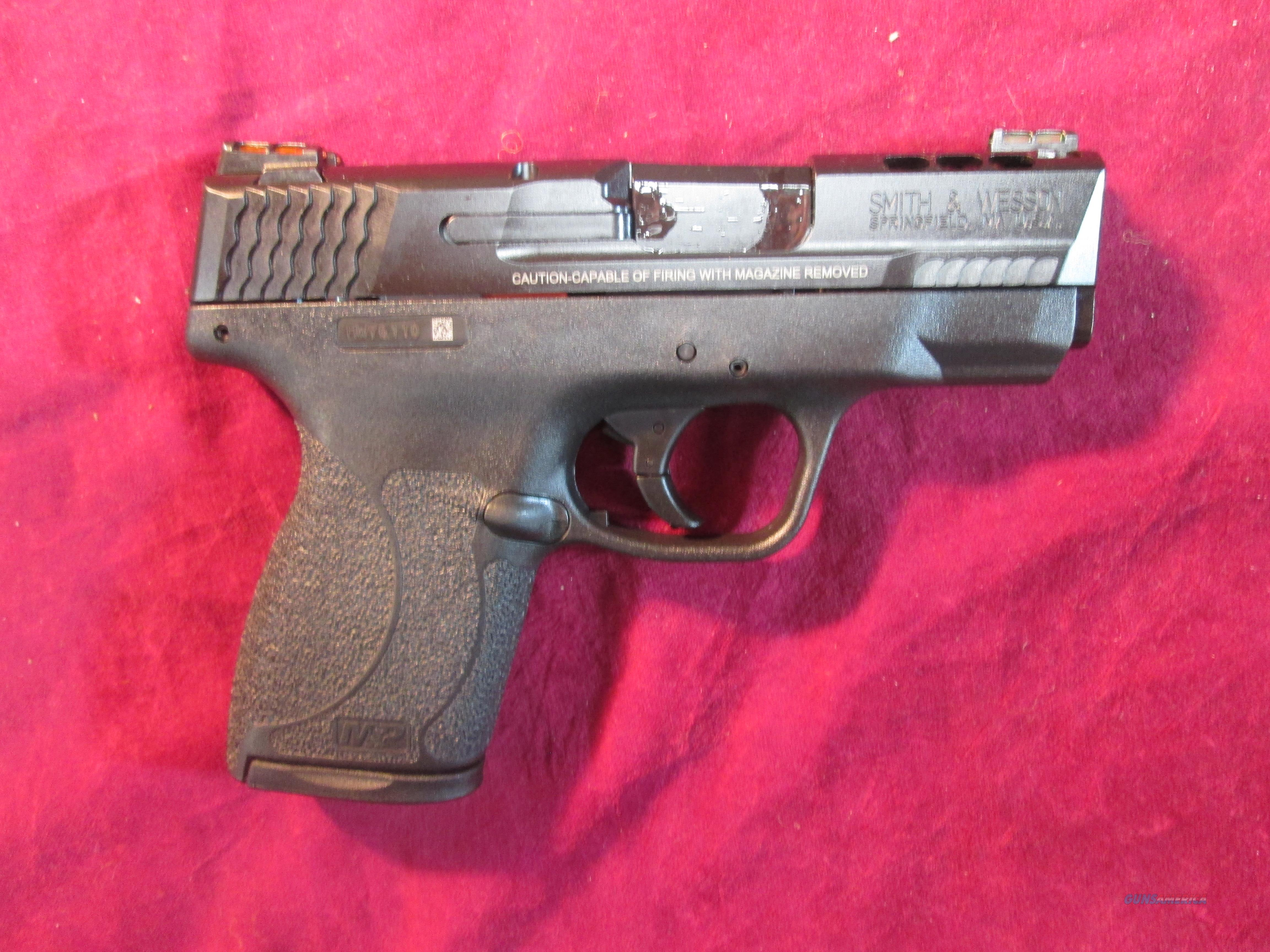 SMITH AND WESSON M&P SHIELD PERFORMANCE CENTER 45ACP NO SAFETY NEW  (11629)  Guns > Pistols > Smith & Wesson Pistols - Autos > Polymer Frame