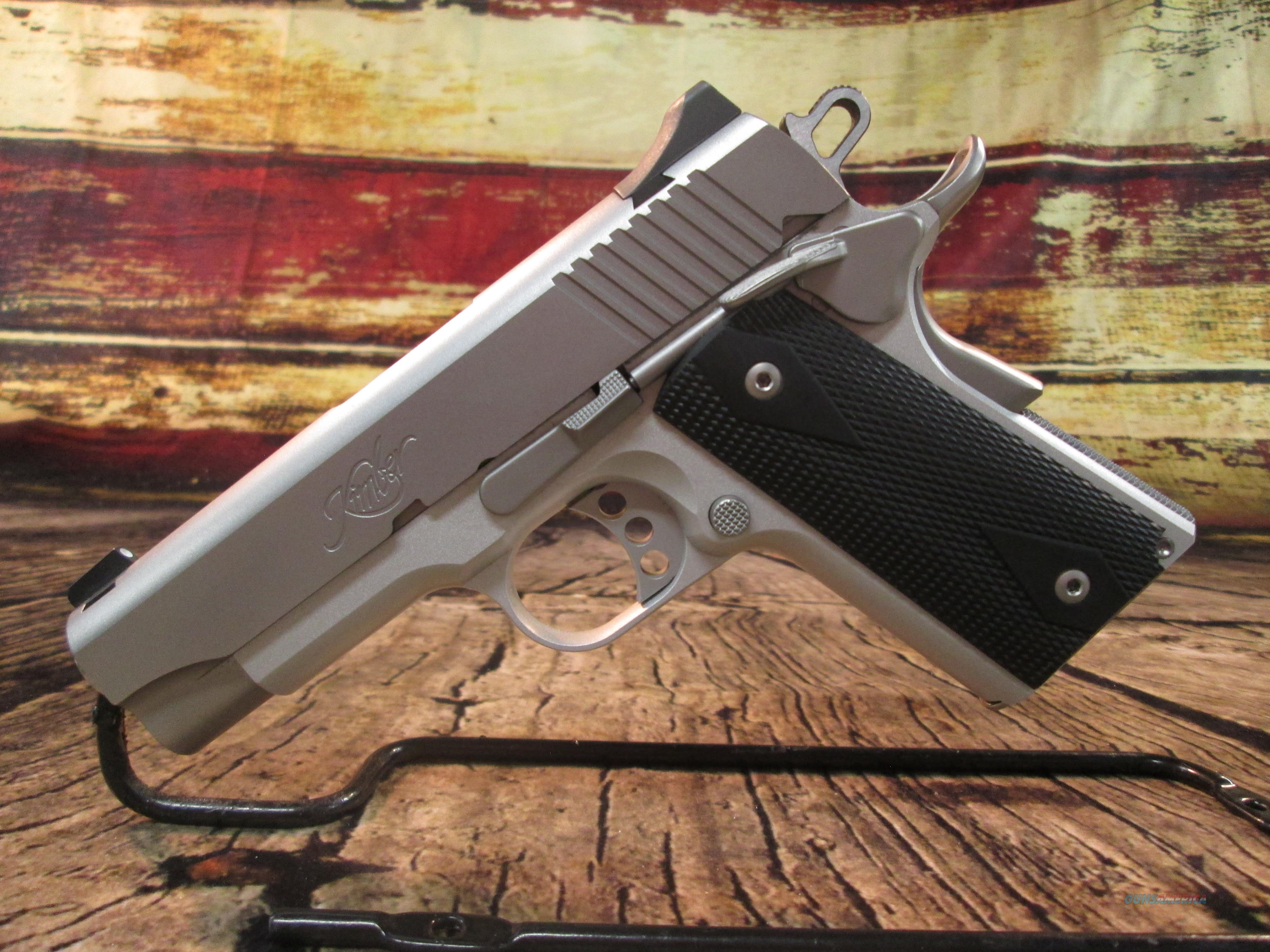 KIMBER COMPACT ALUMINUM STAINLESS II .45 ACP USED EXCELLENT CONDITION (64673)  Guns > Pistols > Kimber of America Pistols > 1911
