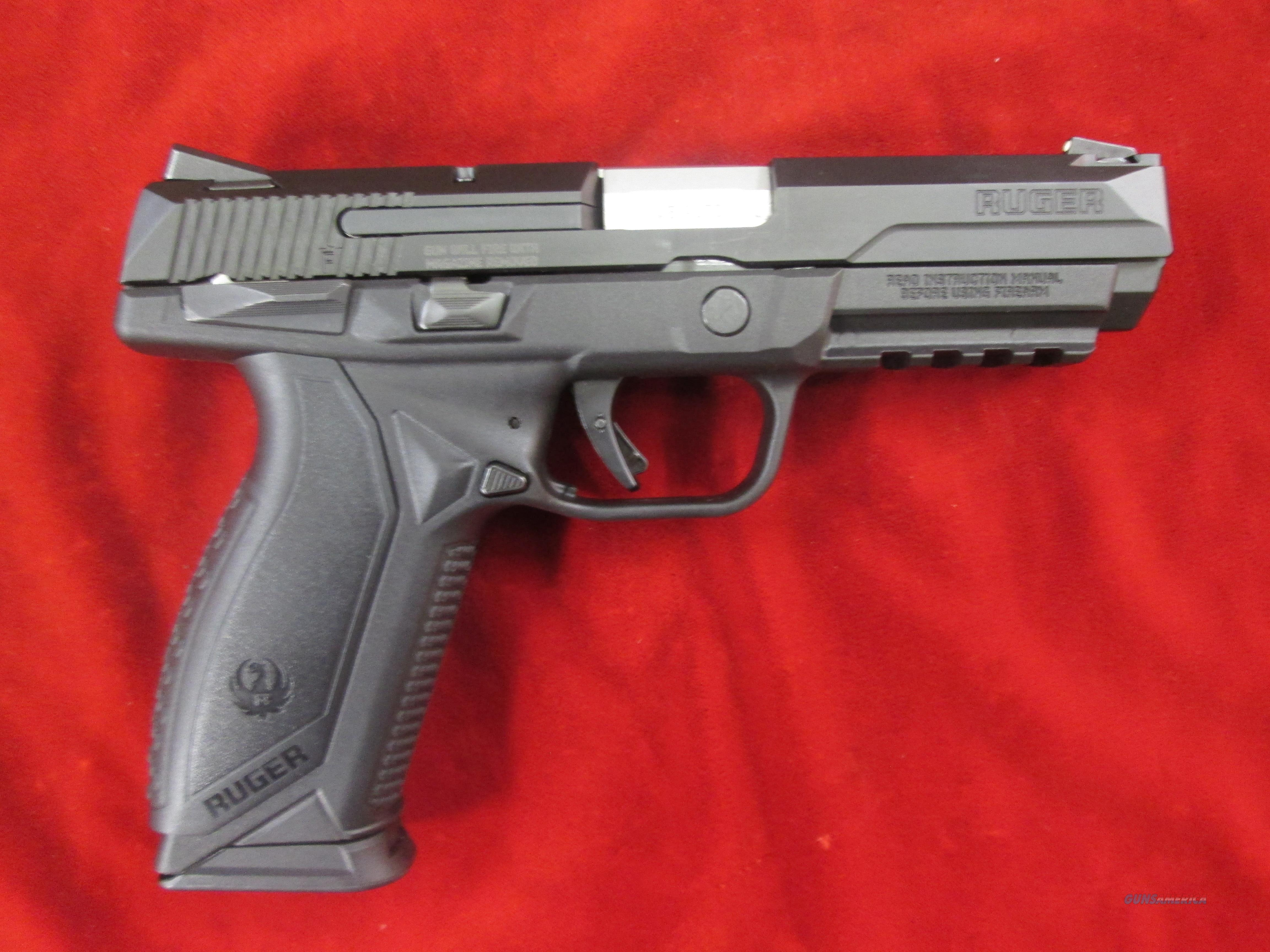 RUGER AMERICAN PISTOL 45ACP BLACK NITRIDE W/ MANUAL SAFETY NEW (08618)   Guns > Pistols > Ruger Semi-Auto Pistols > American Pistol