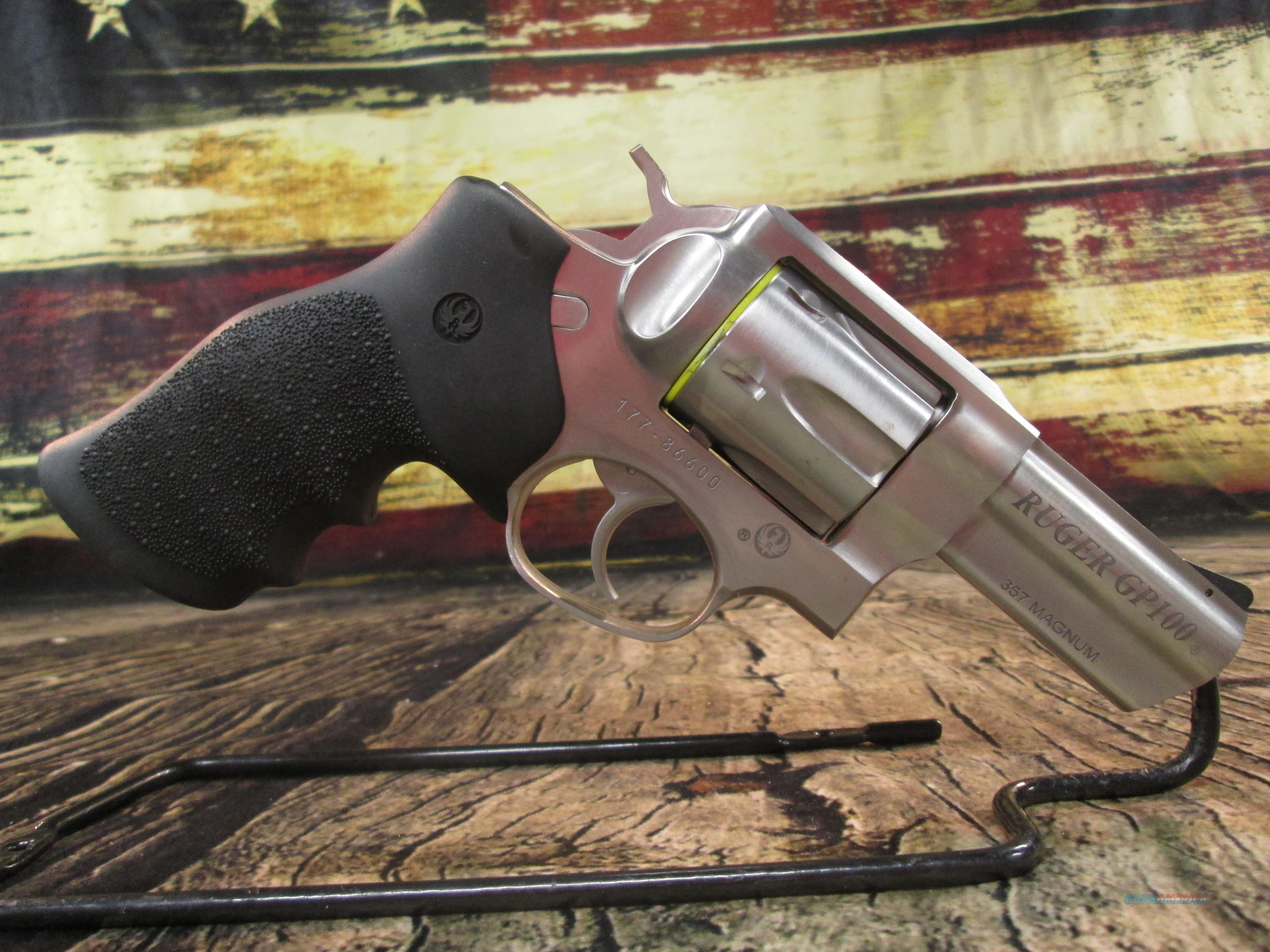 """Ruger GP100 357 Mag 3"""" Stainless New (01715)  Guns > Pistols > Ruger Double Action Revolver > GP100"""