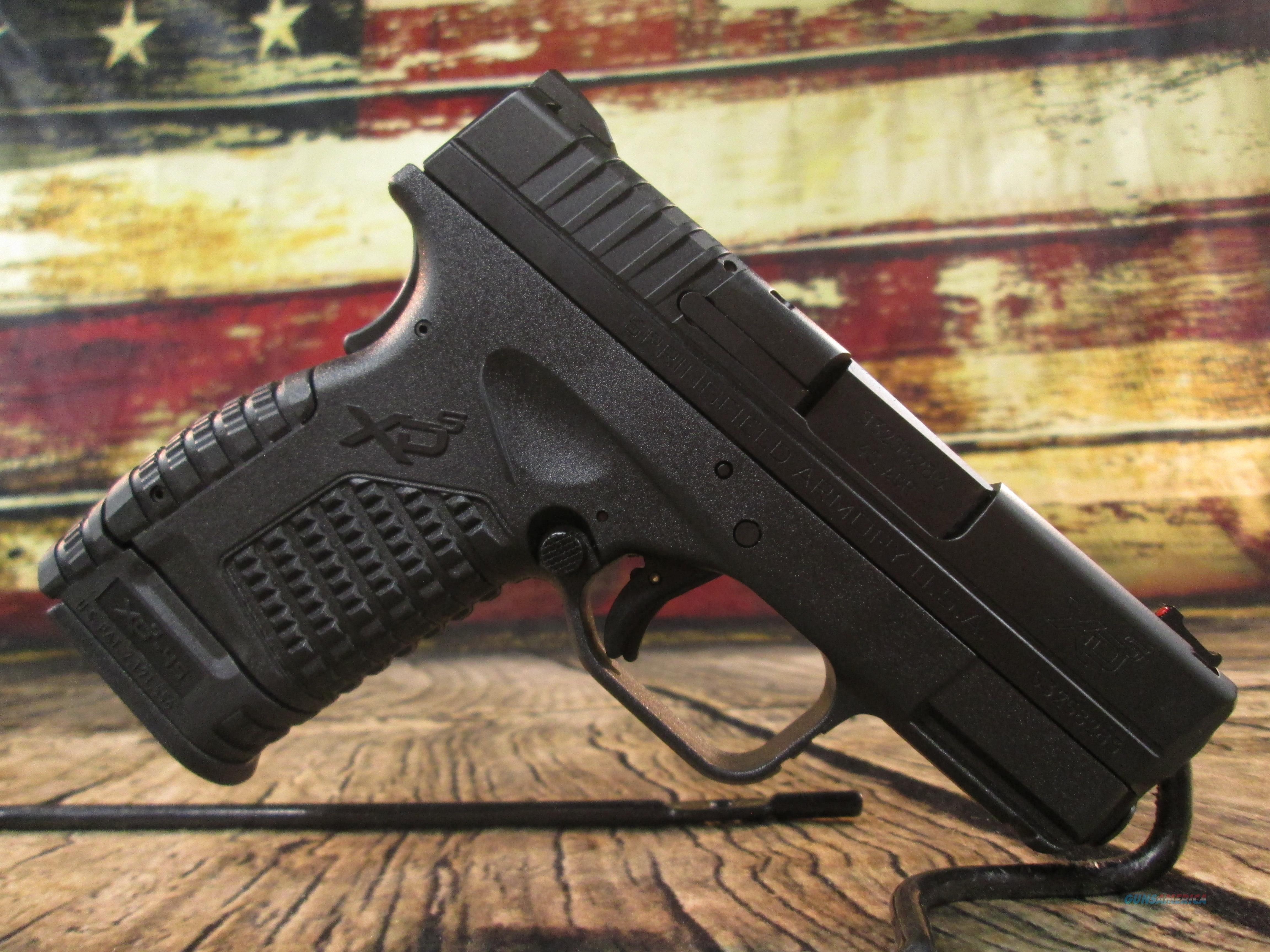 """Springfield Armory 45 ACP XDS 3.3"""" Black New (XDS93345BE)  Guns > Pistols > Springfield Armory Pistols > XD-S"""