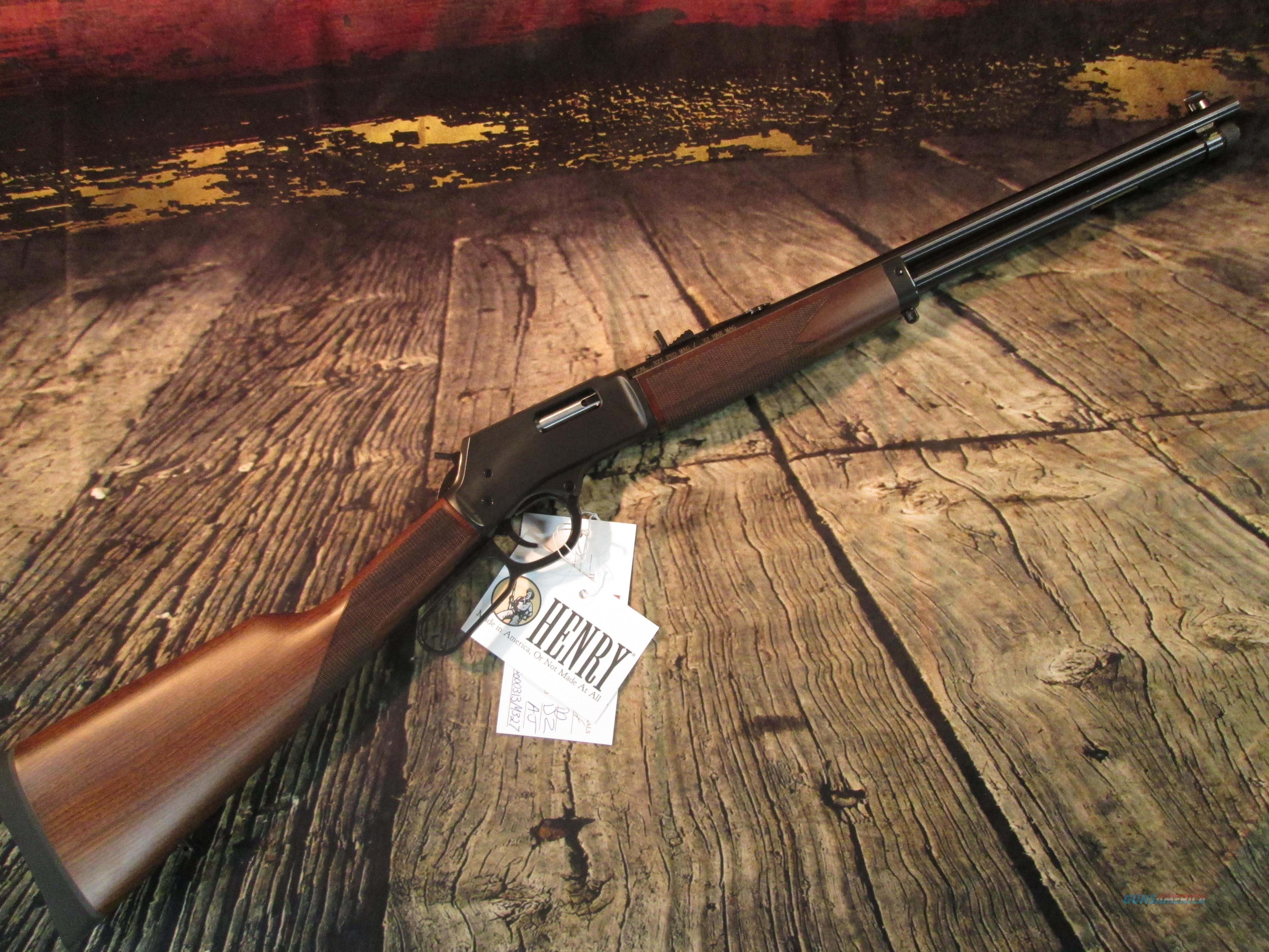 HENRY BIG BOY .327 FEDERAL AMERICAN WALNUT (H012M327)  Guns > Rifles > Henry Rifle Company