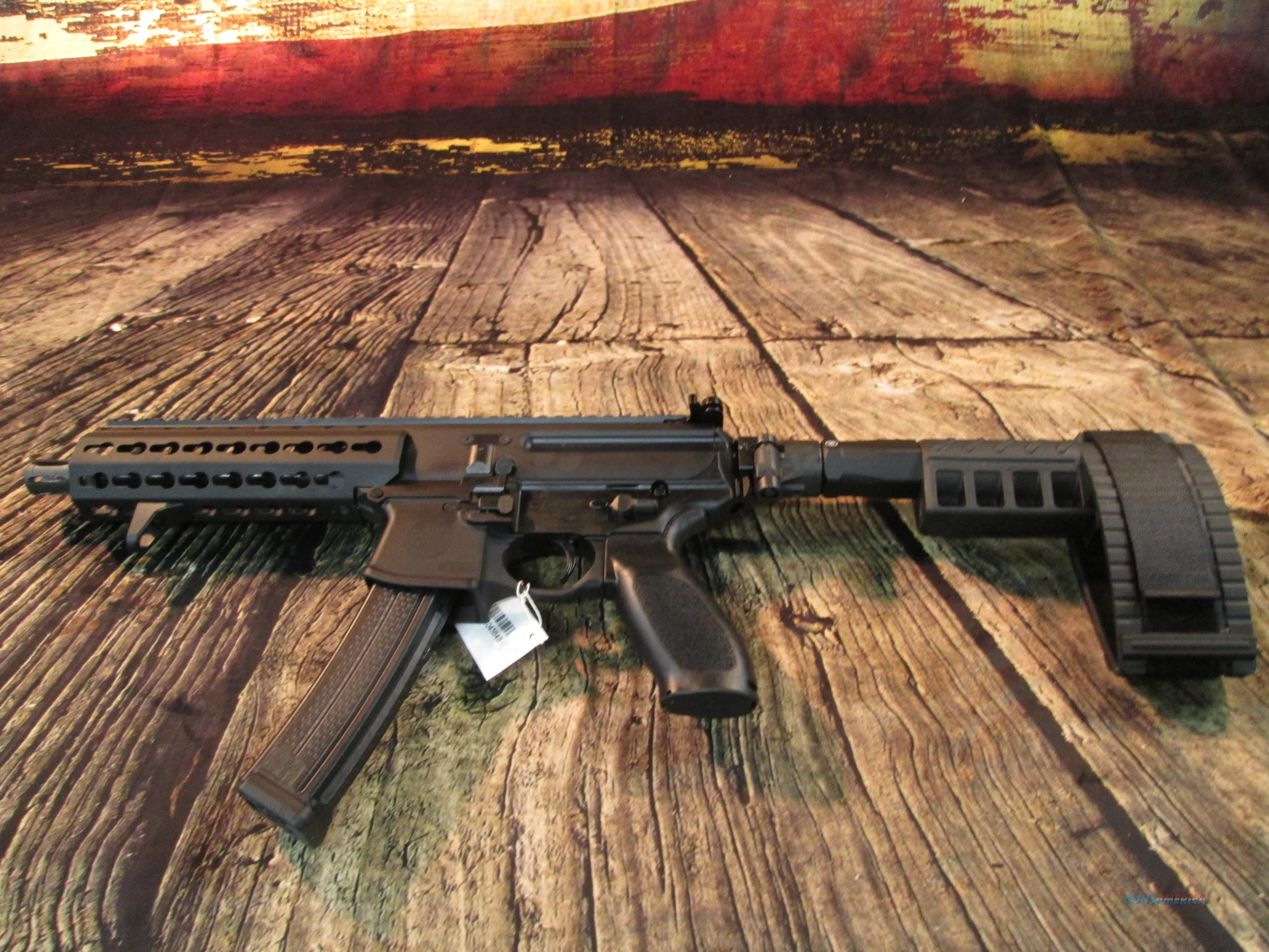 SIG SAUER MPX 9MM PISTOL W/ KEY MOD RAIL SYSTEM AND STABILIZING BRACE NEW (MPX-P-9-KM-PSB)  Guns > Pistols > Sig - Sauer/Sigarms Pistols > Other