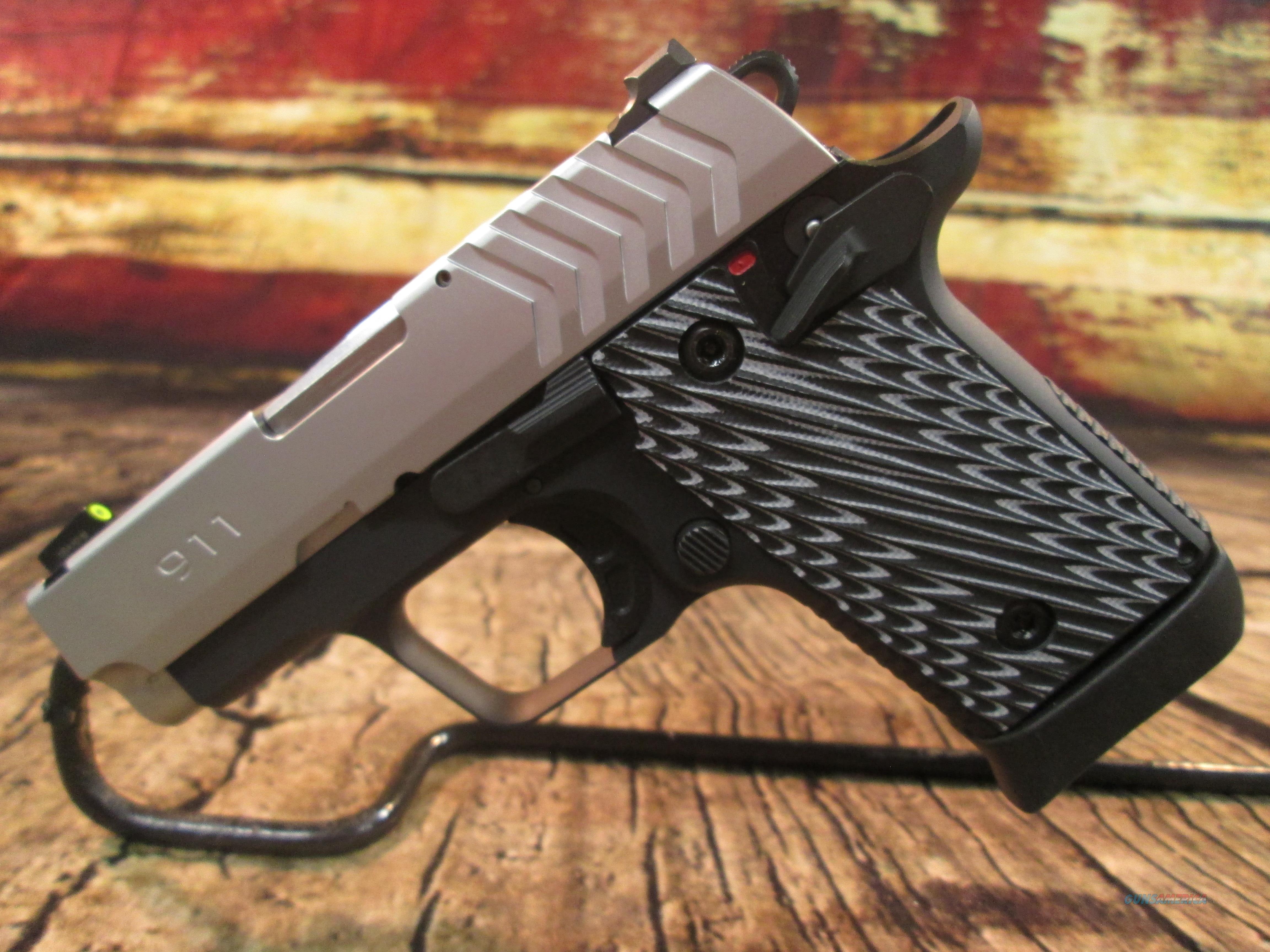"SPRINGFIELD ARMORY 911 STAINLESS 2.7 "" 380 ACP NEW (PG9109S)  Guns > Pistols > Springfield Armory Pistols > 911"