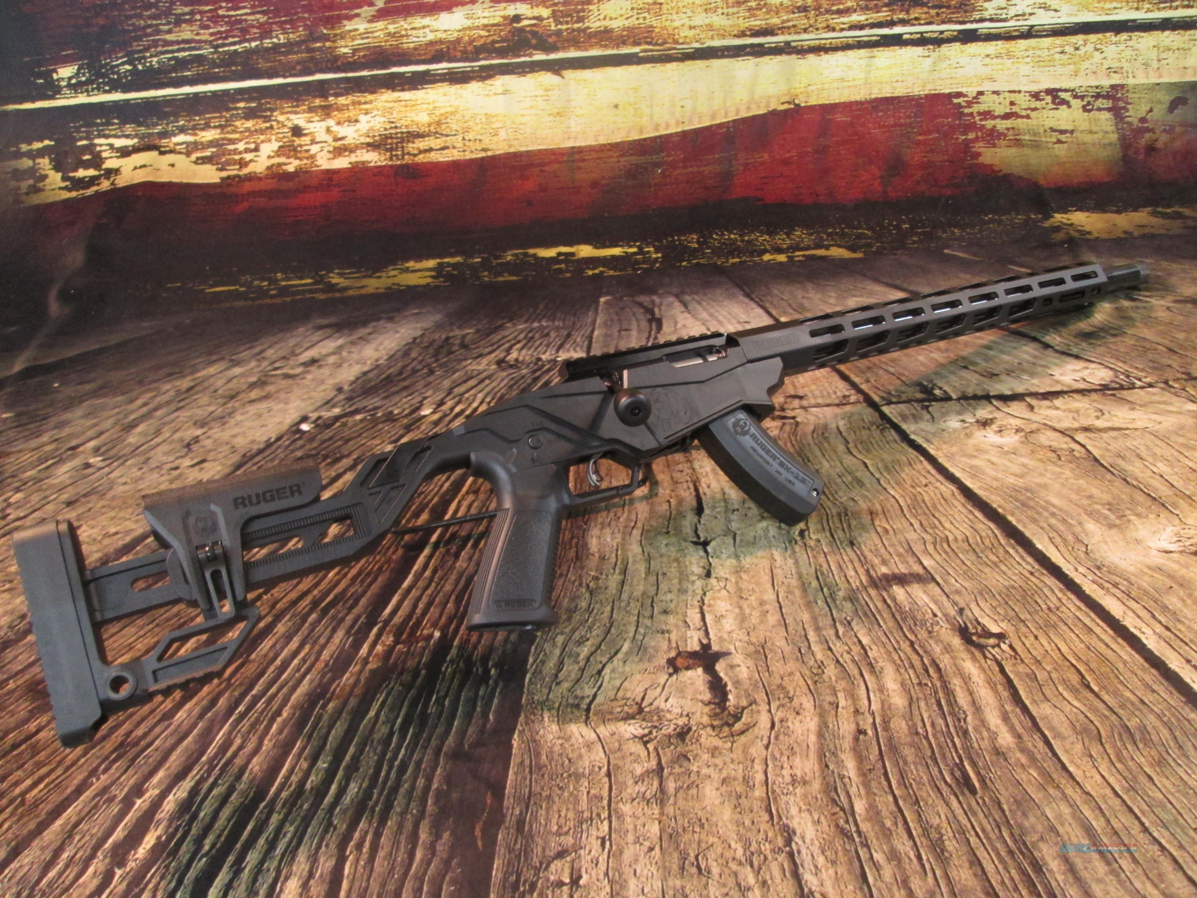 Ruger Precision Rimfire .22 LR New (08400)  Guns > Rifles > Ruger Rifles > Precision Rifle Series