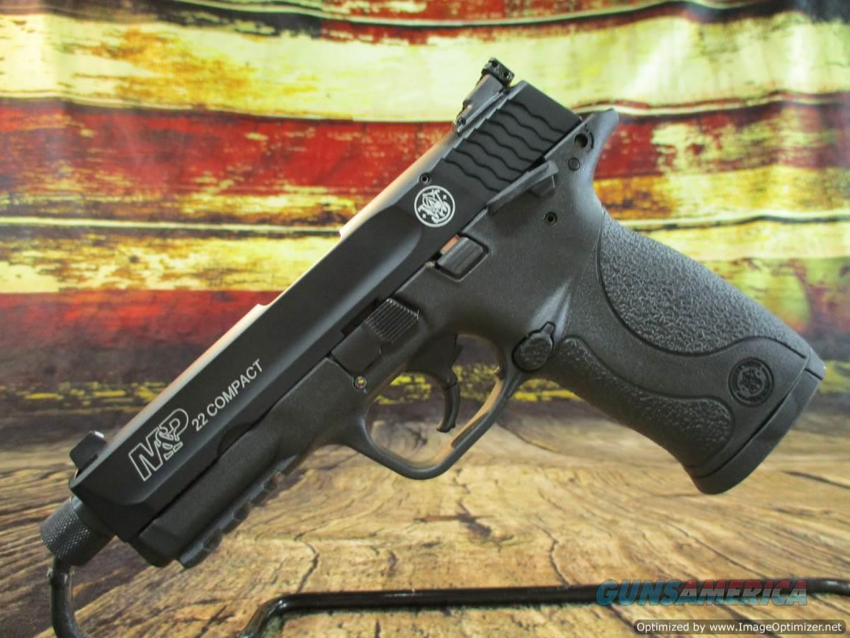 "Smith & Wesson 22 LR M&P 22 Compact 3.6"" Threaded New (10199)  Guns > Pistols > Smith & Wesson Pistols - Autos > .22 Autos"