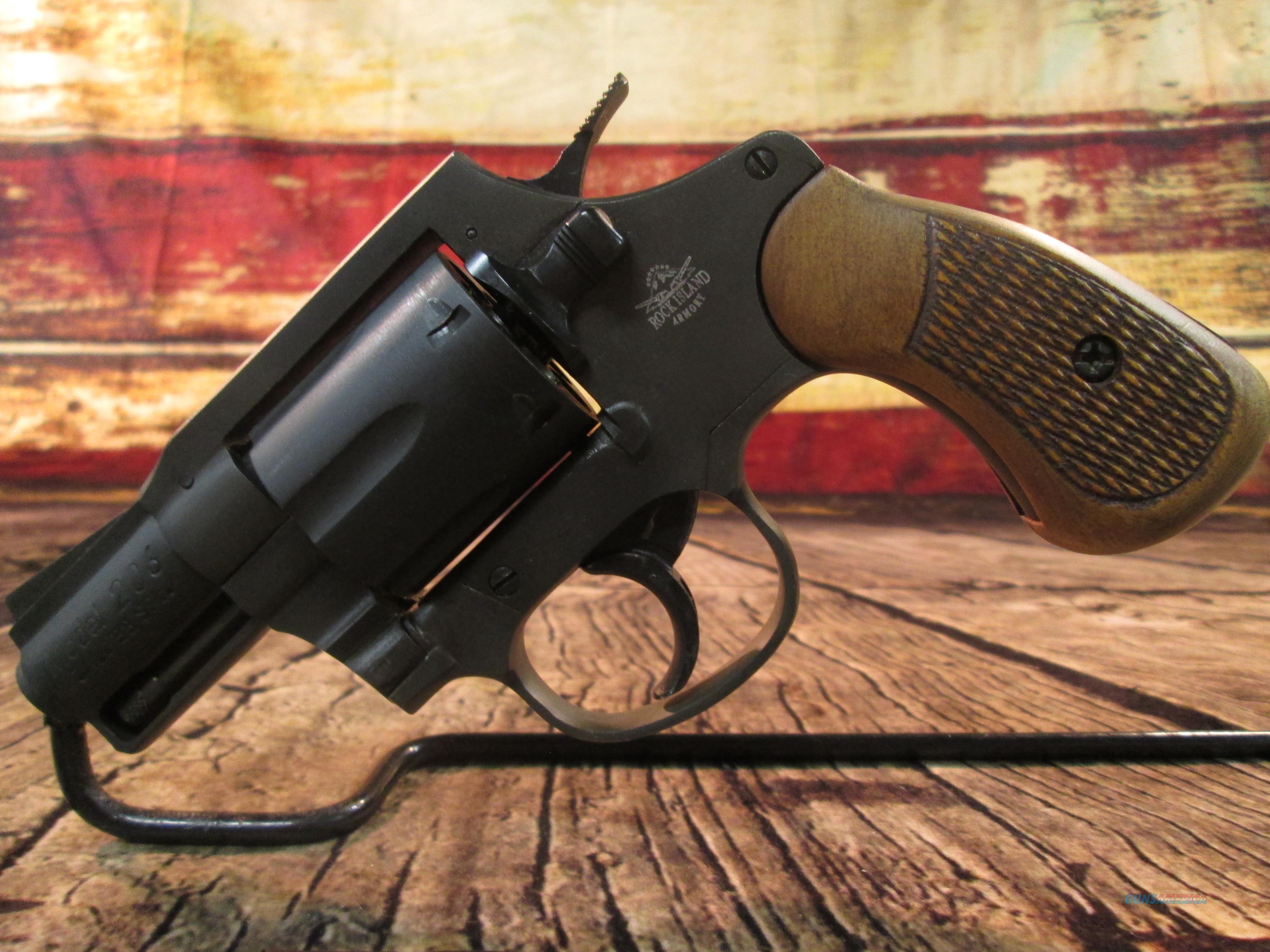 ARMSCOR ROCK ISLAND M206 REVOLVER .38 SPL USED (62757)  Guns > Pistols > Armscor Pistols > Rock Island