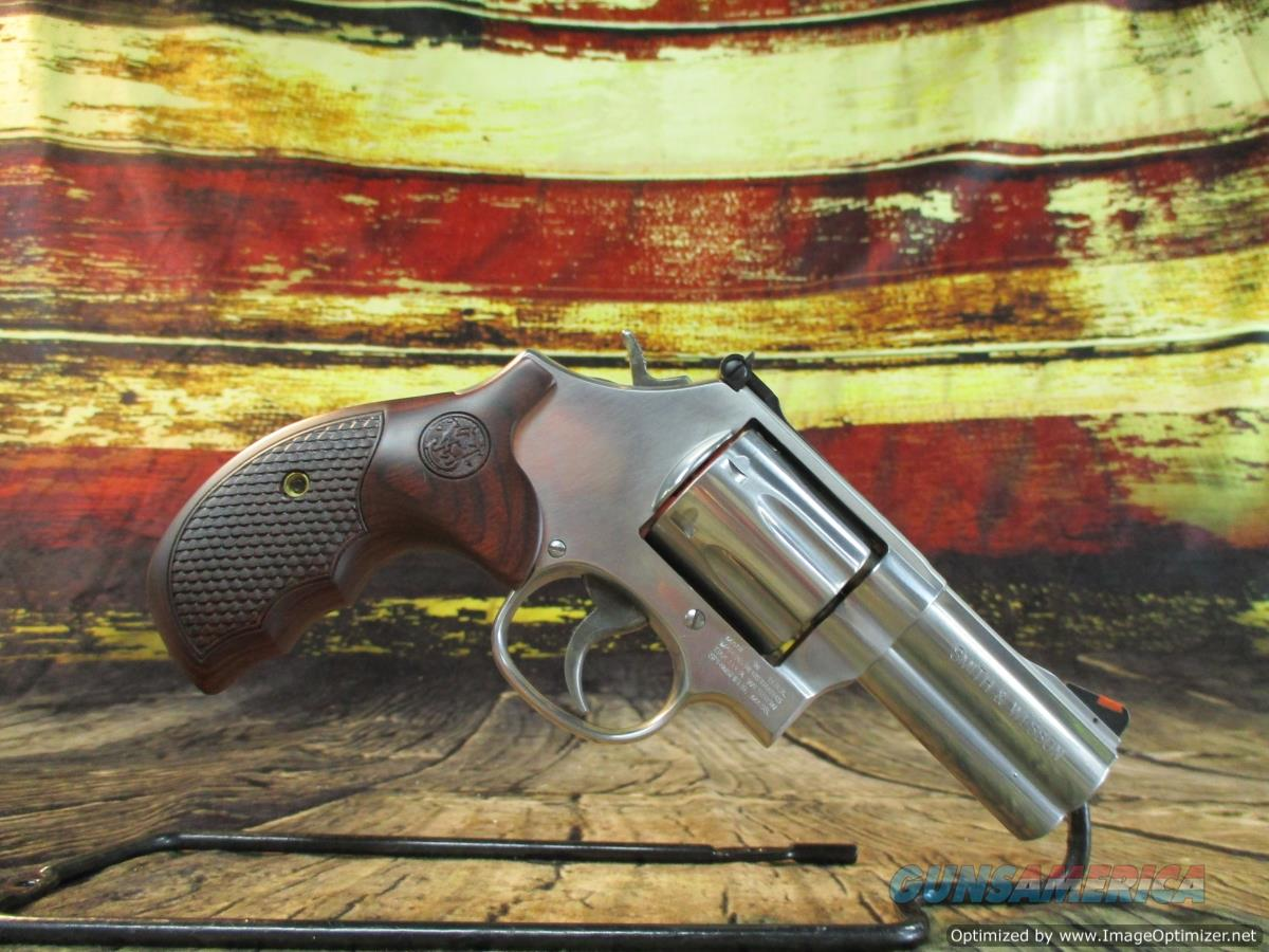 """Smith & Wesson 357 Mag Model 686 Plus Deluxe Stainless 3"""" New (150713)  Guns > Pistols > Smith & Wesson Revolvers > Med. Frame ( K/L )"""