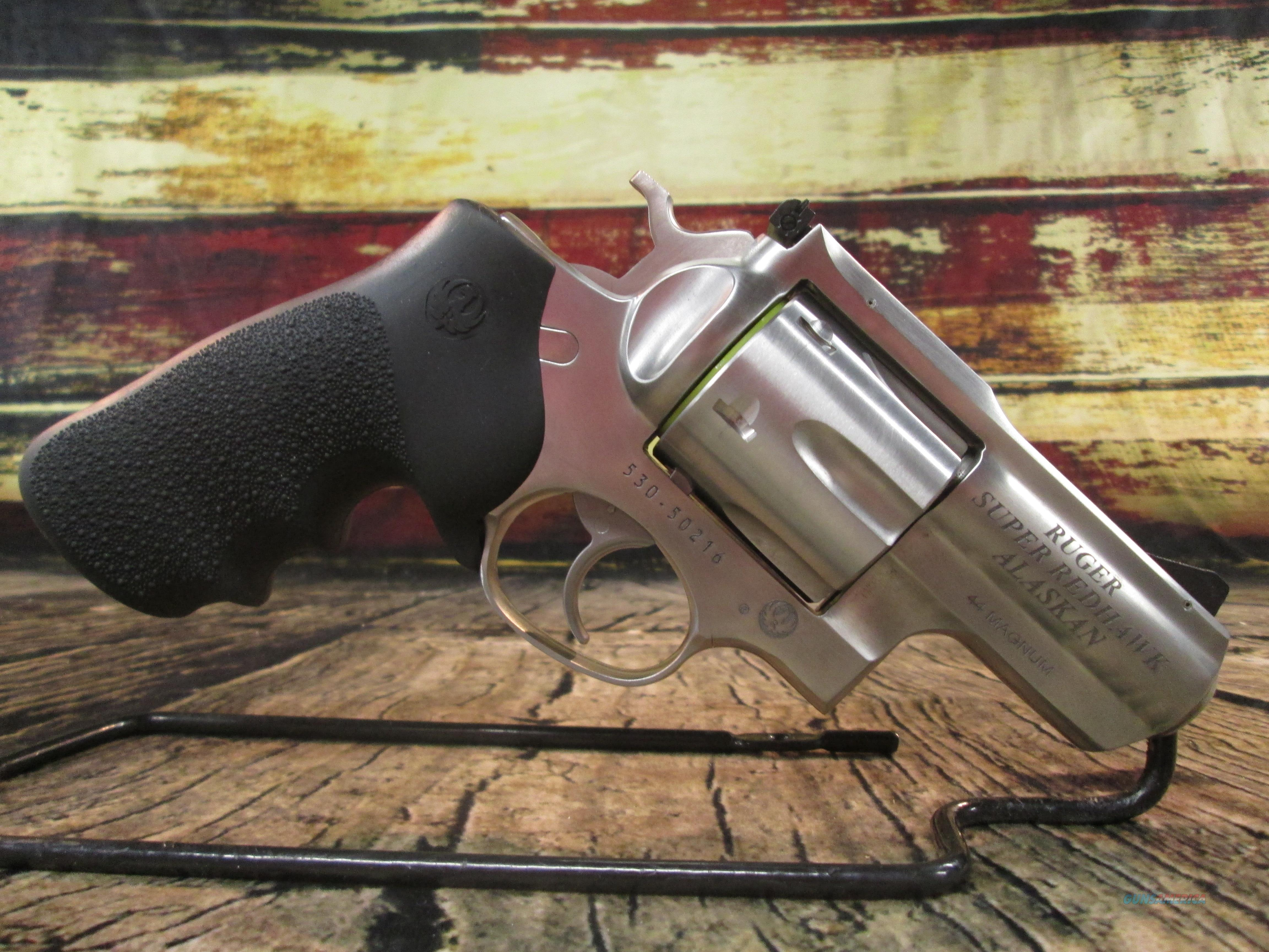 "Ruger Super Redhawk Alaskan 2.5"" Stainless 44 Mag New (05303)  Guns > Pistols > Ruger Double Action Revolver > Redhawk Type"