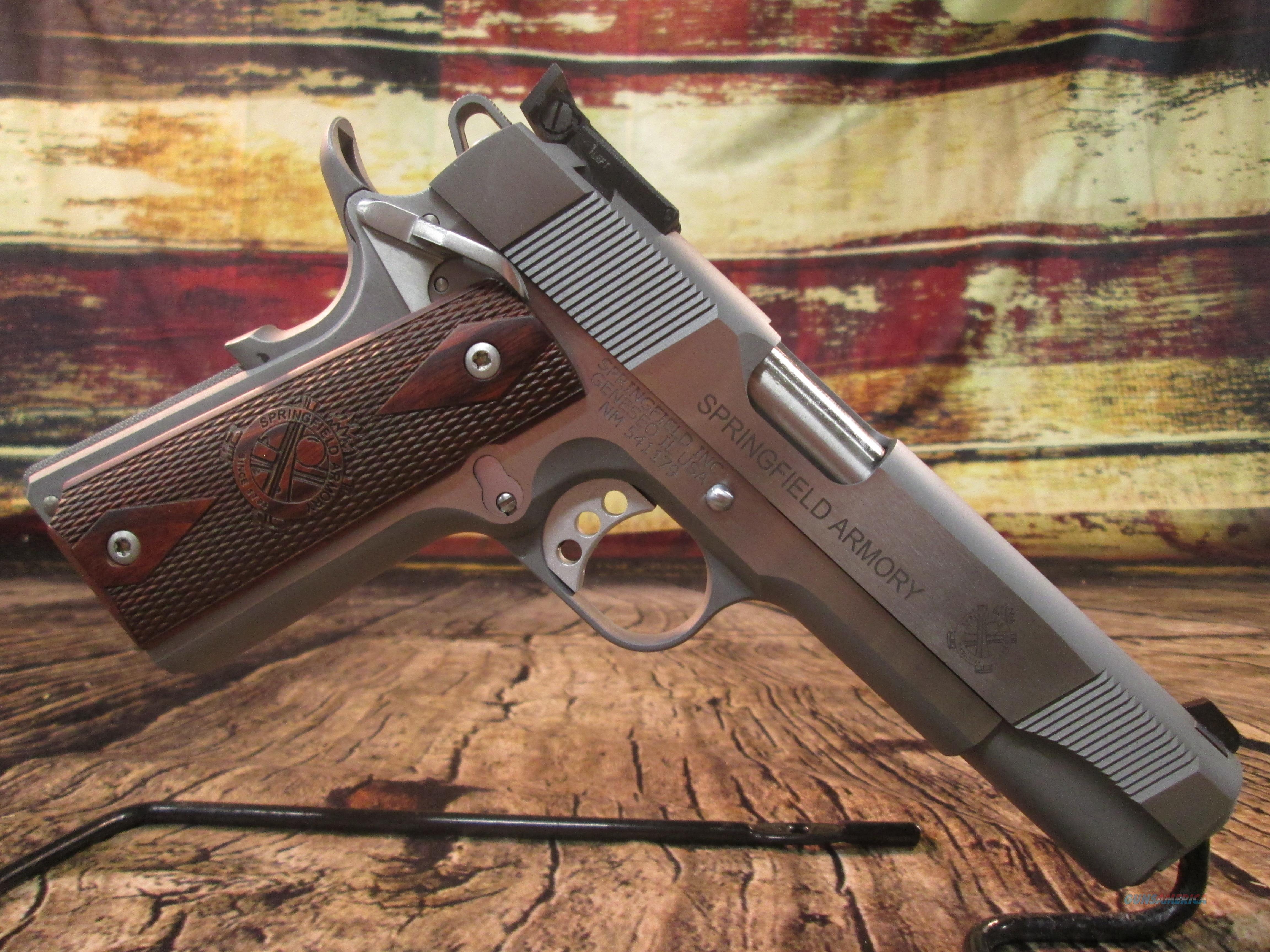SPRINGFIELD TARGET 1911 45ACP NEW (PI9132LCA)  Guns > Pistols > Springfield Armory Pistols > 1911 Type