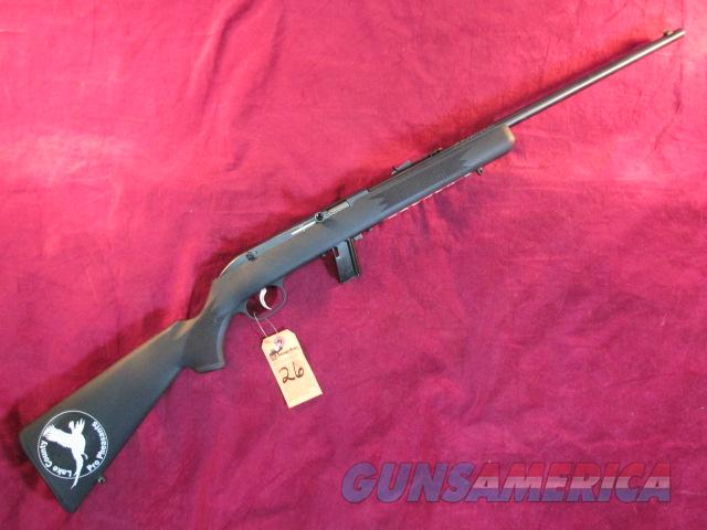 SAVAGE 64F SEMI AUTOMATIC 22LR BLUED SYNTHETIC NEW (40001)  Guns > Rifles > Savage Rifles > Other