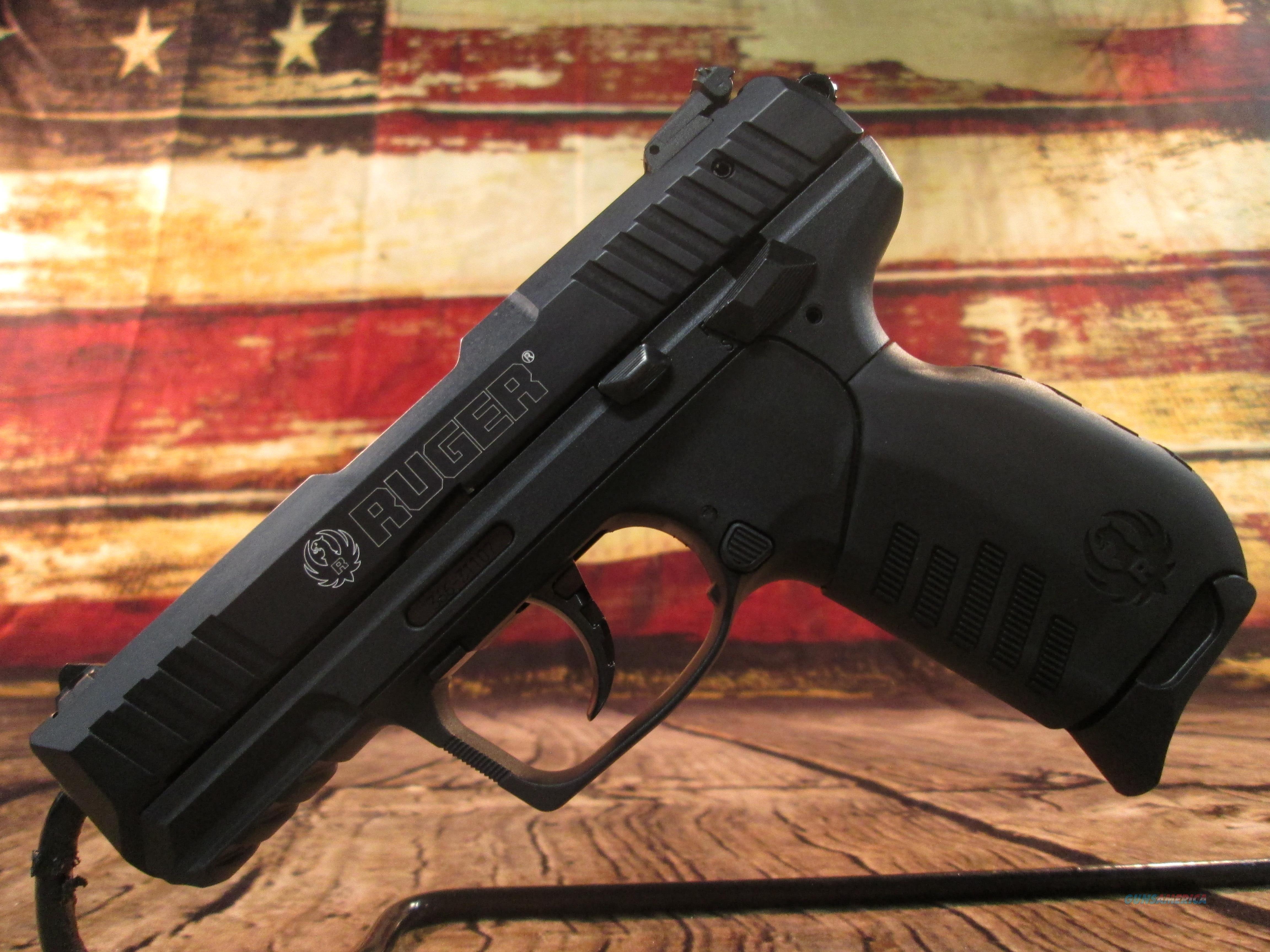 RUGER SR22 PISTOL 22LR  NEW(3600)  Guns > Pistols > Ruger Semi-Auto Pistols > SR Family > SR22