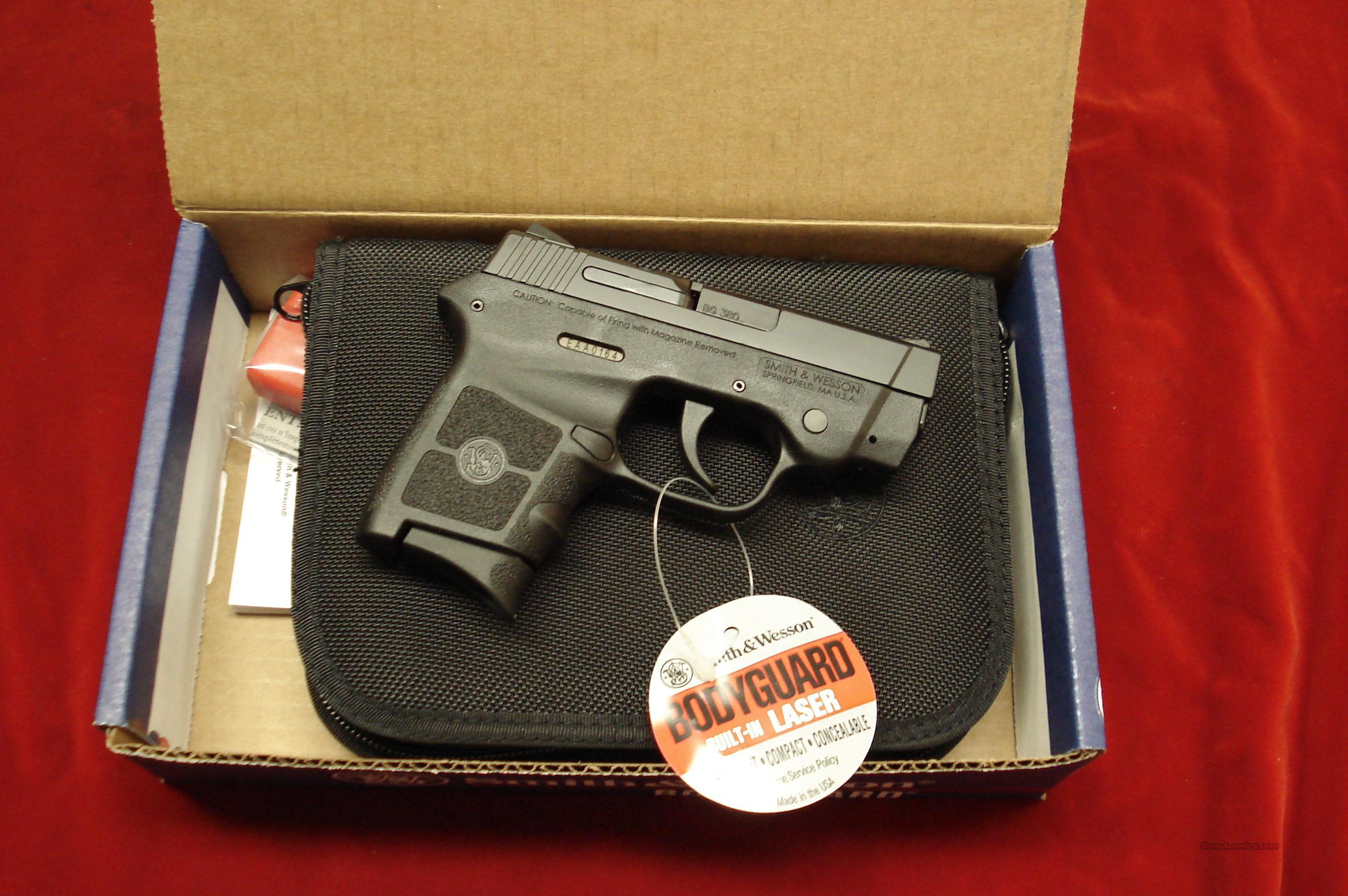 SMITH AND WESSON BODYGUARD 380 WITH FACTORY LASER NEW   Guns > Pistols > Smith & Wesson Pistols - Autos > Polymer Frame