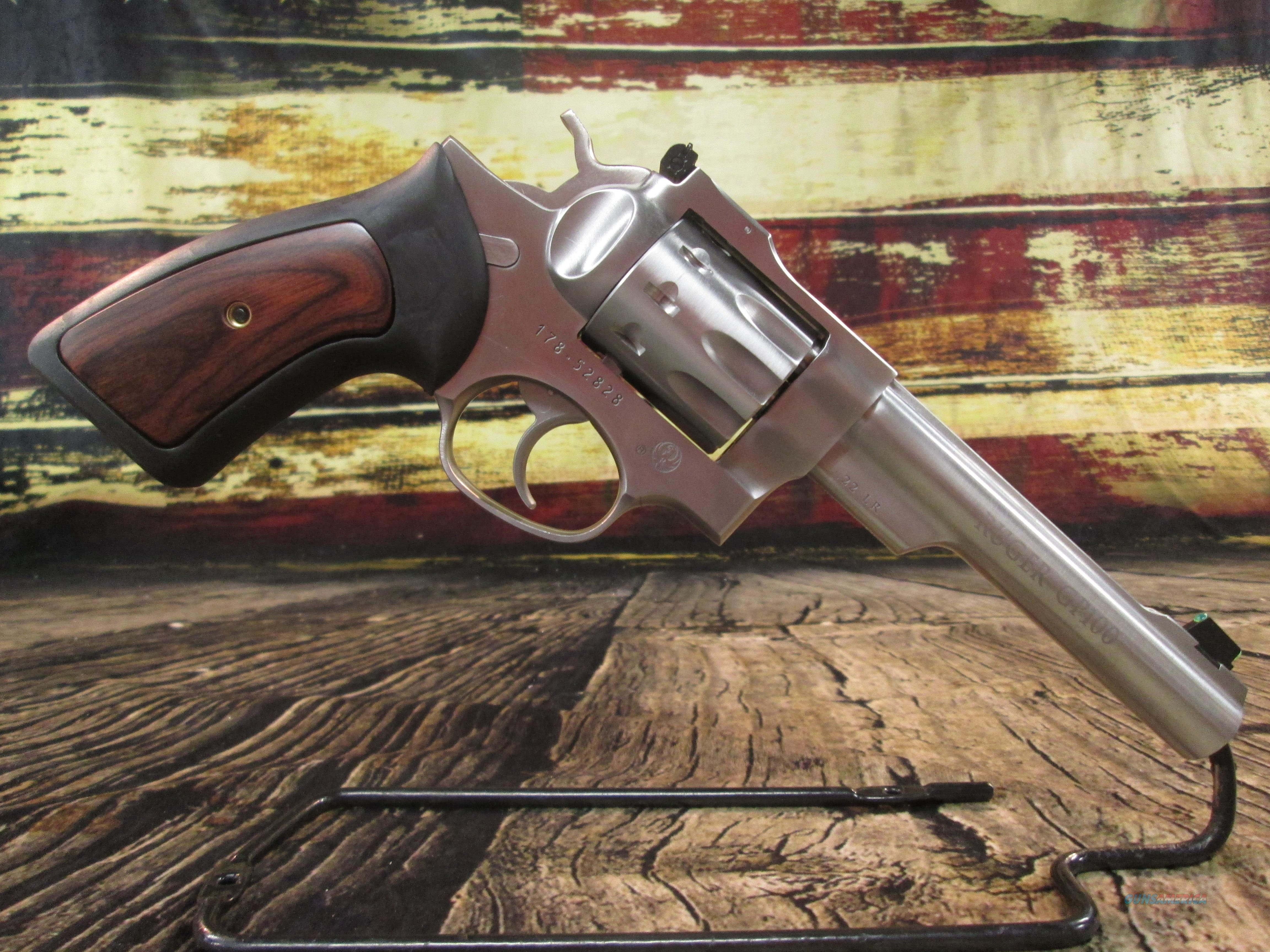 """Ruger GP100 5.5"""" Stainless 22 LR 10 Shot New (01757)   Guns > Pistols > Ruger Double Action Revolver > GP100"""