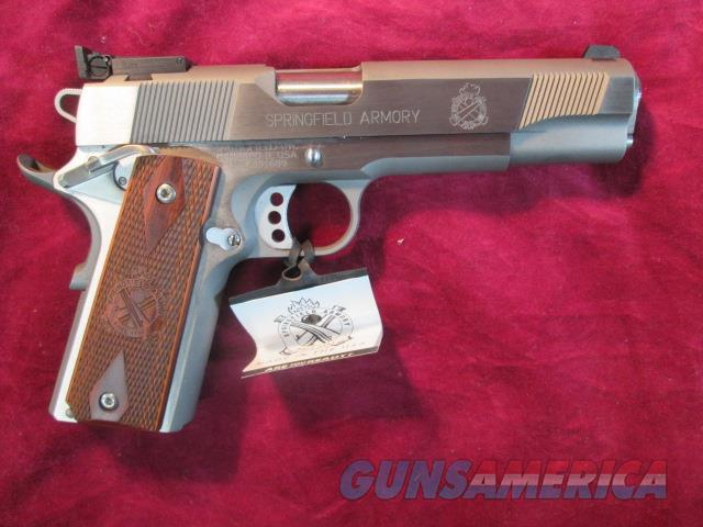 SPRINGFIELD ARMORY STAINLESS LOADED TARGET CALIFORNIA COMPLIANT (PI9132LPCA) NEW    Guns > Pistols > Springfield Armory Pistols > 1911 Type