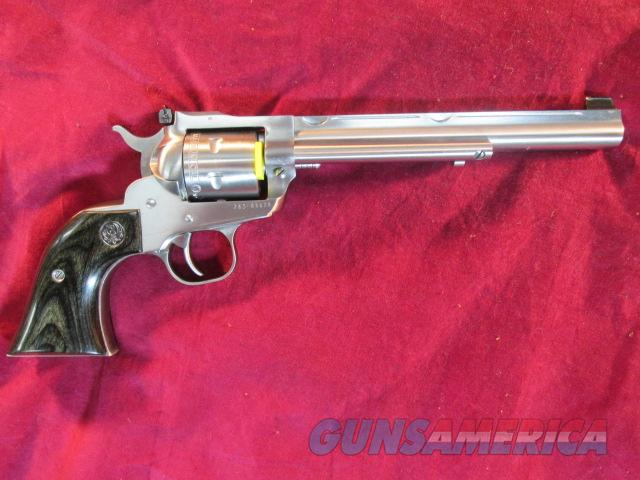 RUGER STAINLESS NEW MODEL SINGLE SIX HUNTER CONVERTIBLE 22LR/22MAG NEW (KNR7H)  Guns > Pistols > Ruger Single Action Revolvers > Single Six Type
