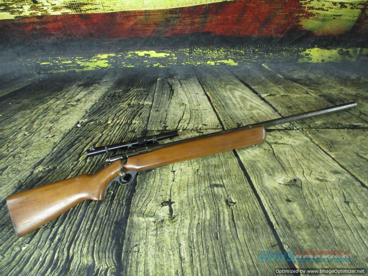 Mossberg 44 US (b) 22lr Used bolt-action w/side mount (67552)  Guns > Rifles > Mossberg Rifles > Other Bolt Action