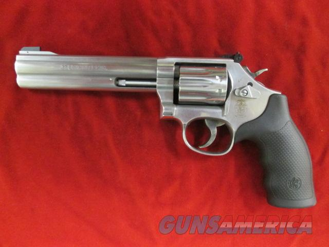 "SMITH AND WESSON 617 22CAL. STAINLESS 6"" TEN SHOT NEW  (160578)   Guns > Pistols > Smith & Wesson Revolvers > Full Frame Revolver"