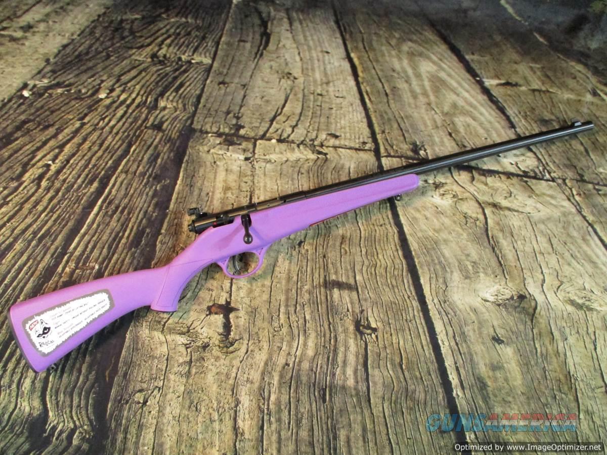 Savage 22 LR Rascal Youth Bolt Purple New (13783)  Guns > Rifles > Savage Rifles > Rimfire