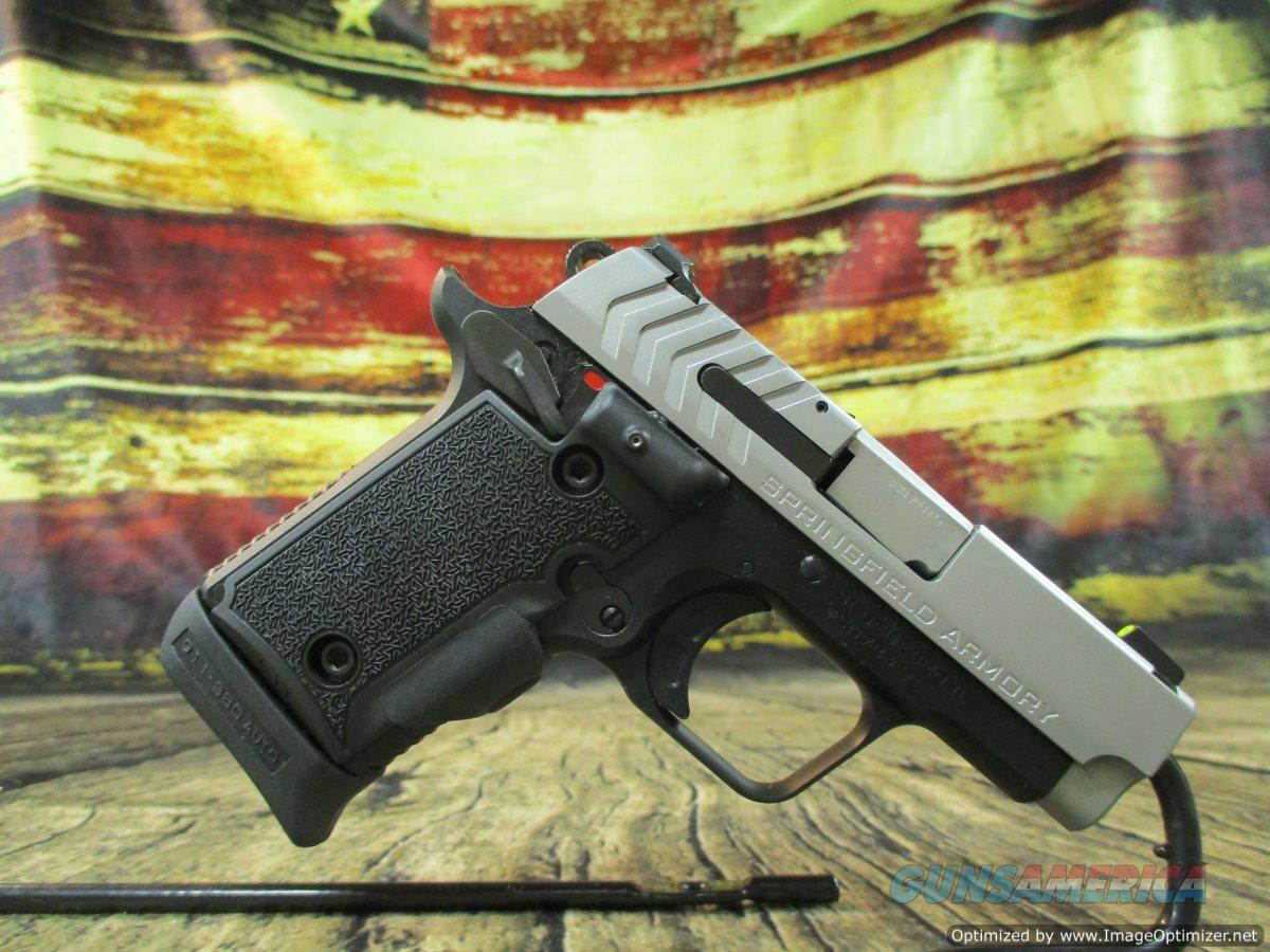 Springfield Armory 911 W/ Viridian Green Laser Grip .380 ACP Used (67248)  Guns > Pistols > Springfield Armory Pistols > 911
