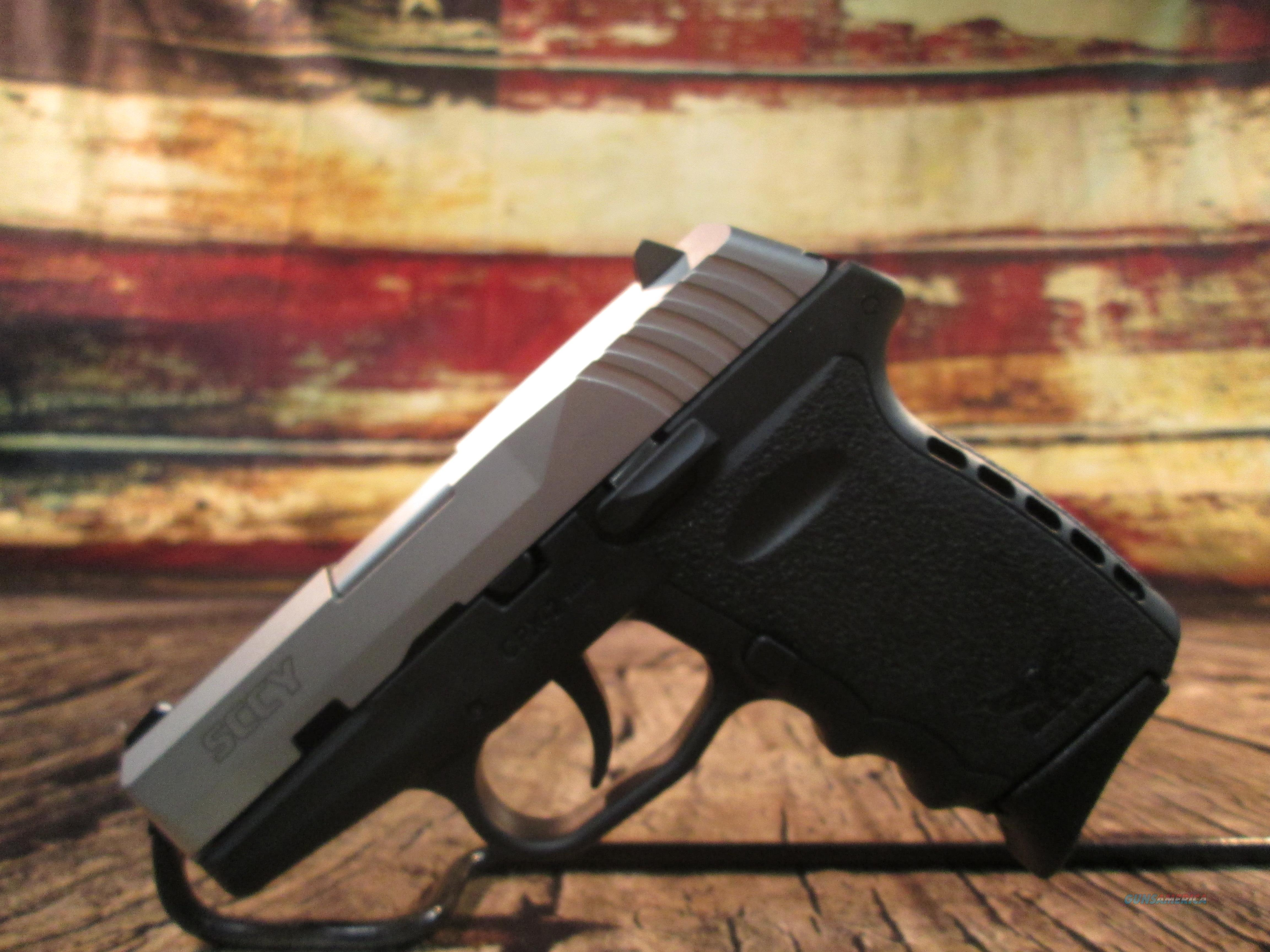 SCCY CPX-2 9MM TWO TONE NEW  (CPX2TT)  Guns > Pistols > SCCY Pistols > CPX2
