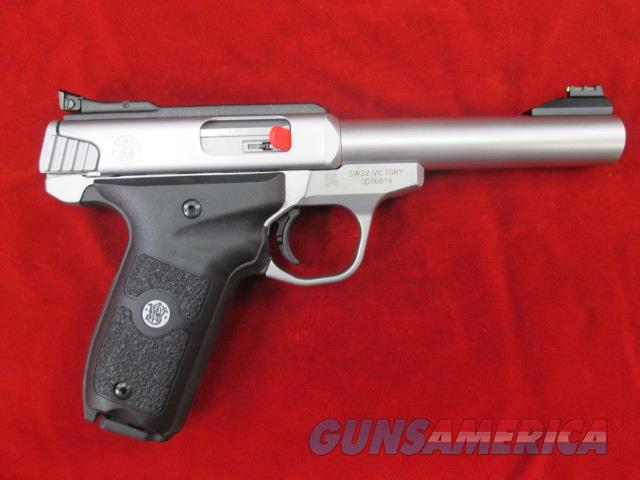 SMITH AND WESSON VICTORY 22LR SEMI AUTO PISTOL NEW (108490)   Guns > Pistols > Smith & Wesson Pistols - Autos > .22 Autos