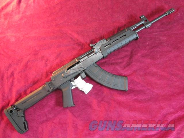 CENTURY ARMS AK-47 RIFLE WITH MAGPUL FOLDING STOCK AND FURNITURE NEW (RI2424-N)  Guns > Rifles > AK-47 Rifles (and copies) > Folding Stock