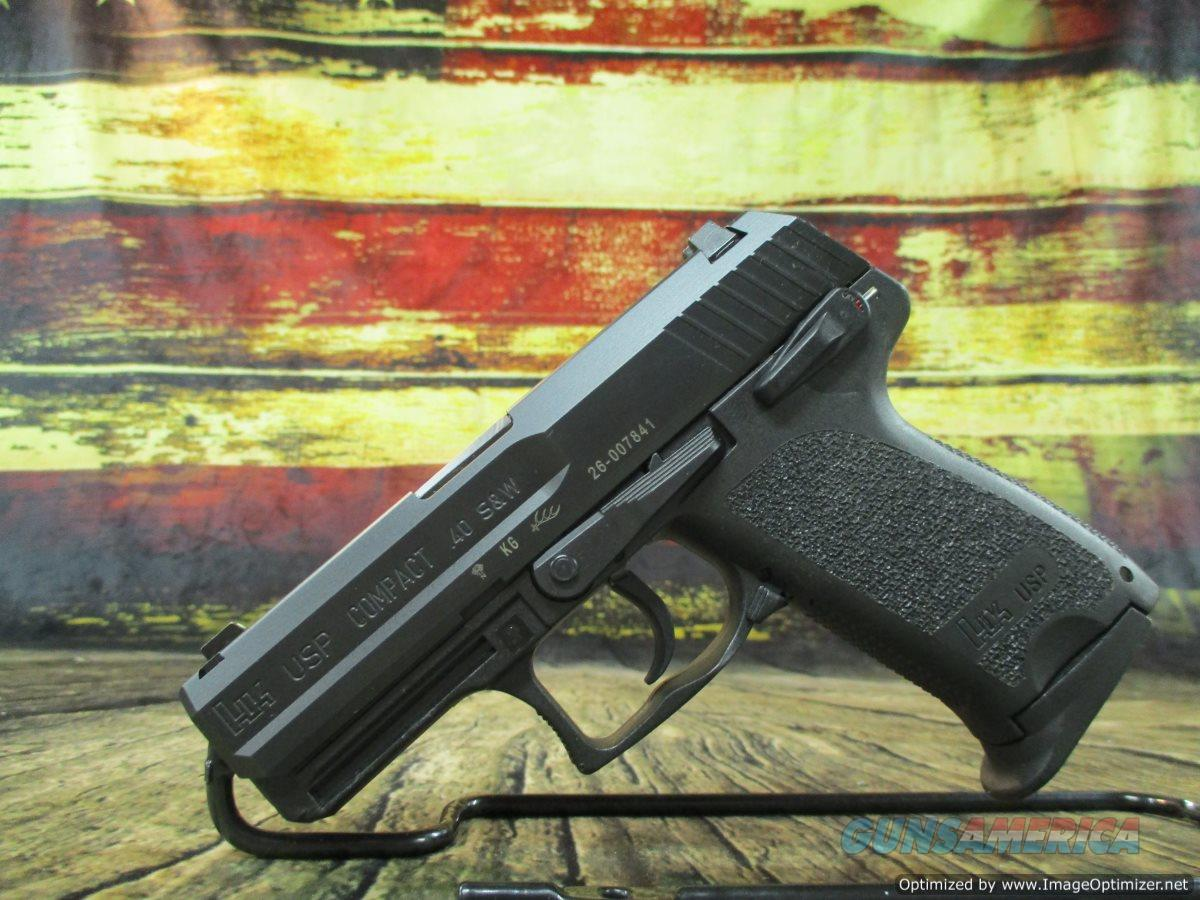 "HK USP Compact V1 40 S&W 3.58"" Used 2-10 Round Mags (67293ST)  Guns > Pistols > Heckler & Koch Pistols > Polymer Frame"