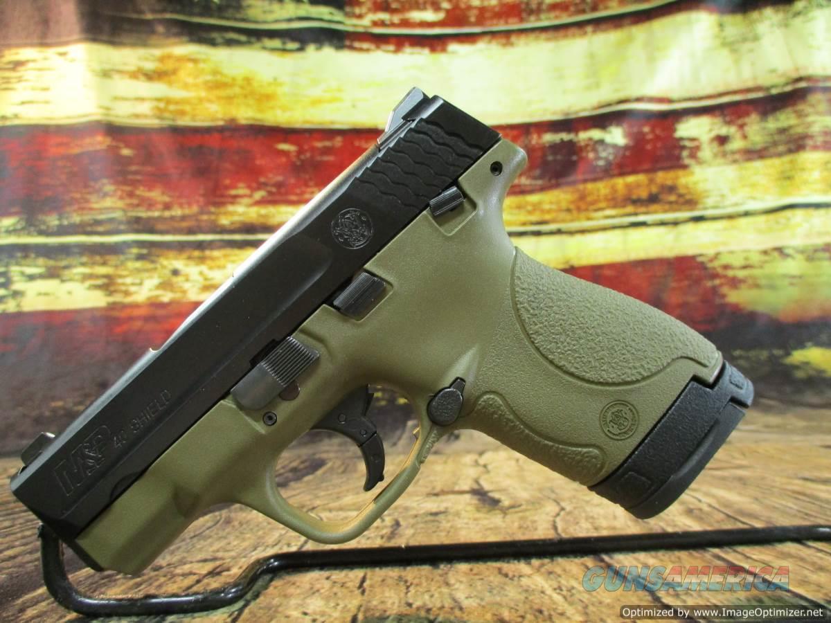 "Smith & Wesson 40 S&W FDE M&P Shield 3.1"" New (10180)  Guns > Pistols > Smith & Wesson Pistols - Autos > Polymer Frame"