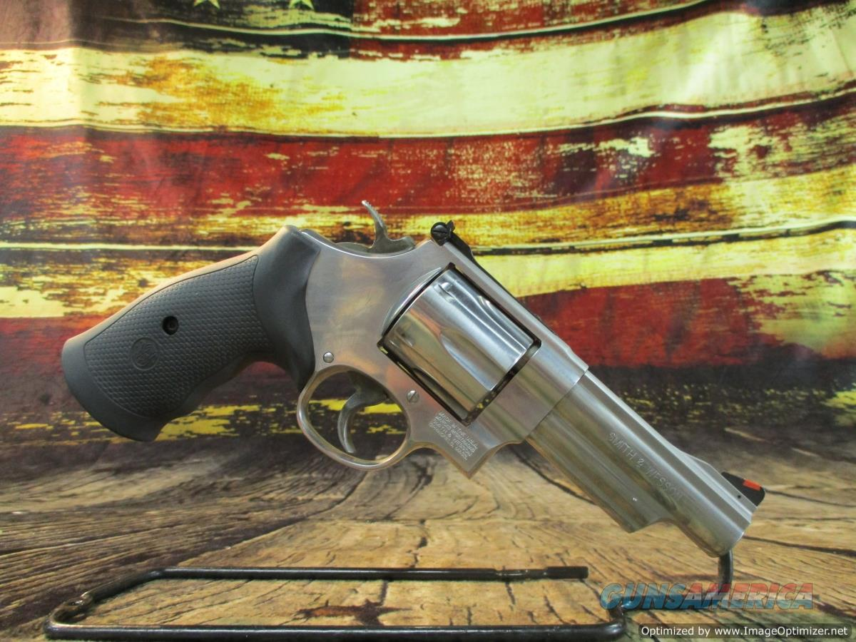 """Smith & Wesson 44 Mag Model 629-6 Stainless 4"""" New (163603)  Guns > Pistols > Smith & Wesson Revolvers > Med. Frame ( K/L )"""
