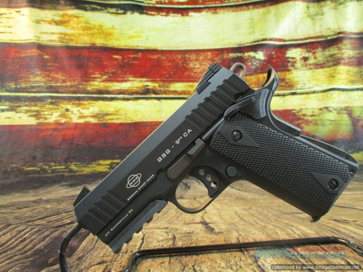 "ATI GSG 922 22lr 3.4"" NEW 10-Round (GERG2210GSG9CA)  Guns > Pistols > 1911 Pistol Copies (non-Colt)"