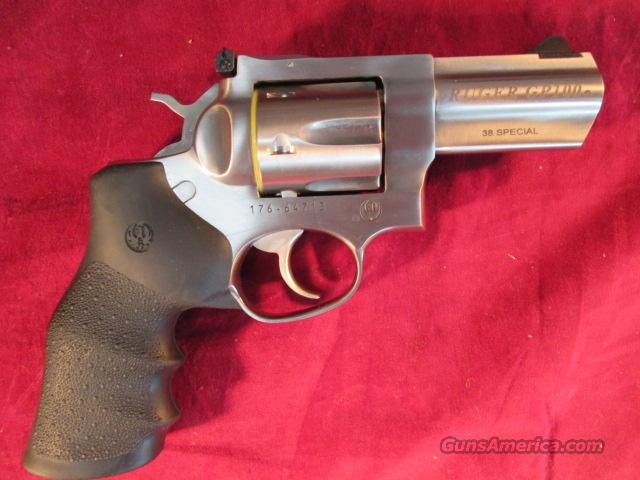 "RUGER  STAINLESS GP100 3"" BARREL 38SPL CAL NEW  Guns > Pistols > Ruger Double Action Revolver > Security Six Type"
