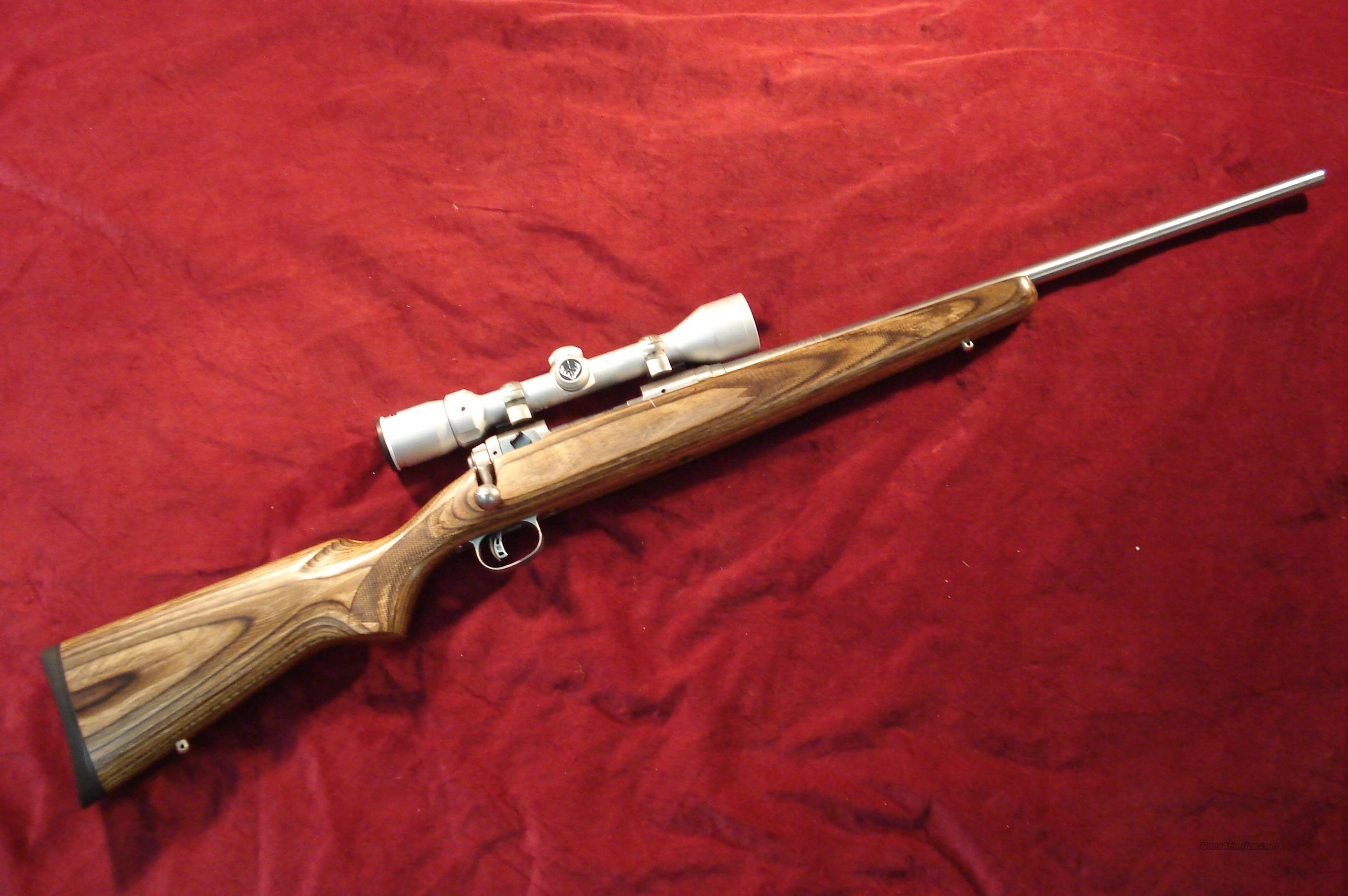 SAVAGE MODEL 16 STAINLESS LAMINATE 223 CAL. WIT... for sale