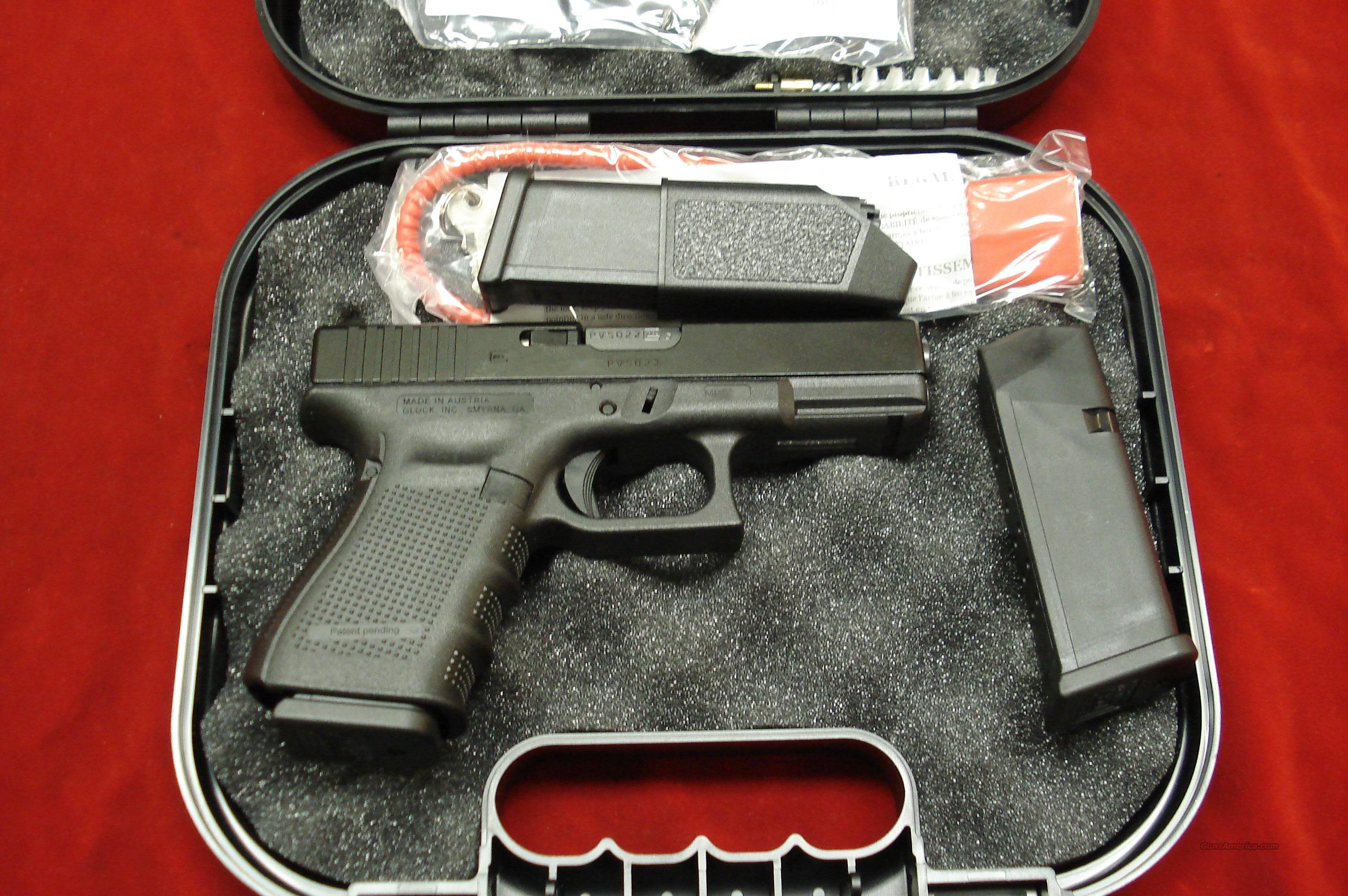 GLOCK NEW MODEL 23 GENERATION 4 .40 CAL. WITH 3 HIGH CAPACITY MAGAZINES NEW  Guns > Pistols > Glock Pistols > 23