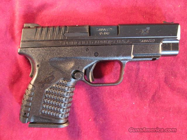 "SPRINGFIELD XDS 45ACP 4"" BLACK NEW  (XDS94045B)   Guns > Pistols > Springfield Armory Pistols > XD-S"