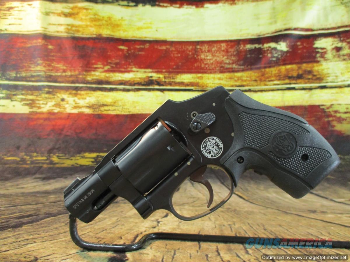 Smith & Wesson 357 Mag M&P 340 W/ Crimson Trace Grip New (163073)  Guns > Pistols > Smith & Wesson Revolvers > Small Frame ( J )