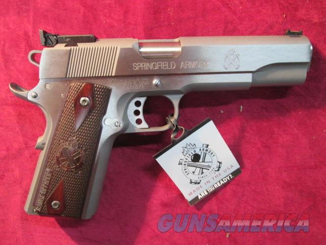 SPRINGFIELD ARMORY STAINLESS RANGE OFFICER 9MM W/ TARGET SIGHTS NEW   (PI9122LP)   Guns > Pistols > Springfield Armory Pistols > 1911 Type