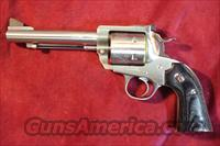 "RUGER BISLEY BLACKHAWK STAINLESS 45ACP/45COLT CONVERTABLE 5.5"" BARREL W/ADJUSTABLE SIGHTS NEW  Guns > Pistols > Ruger Single Action Revolvers > Blackhawk Type"
